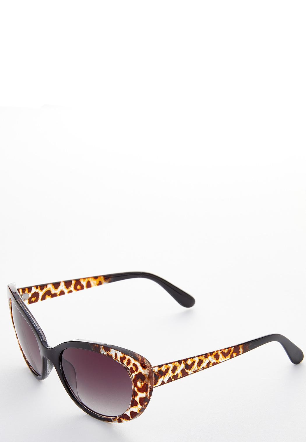 Leopard Oval Sunglasses (Item #44188572)