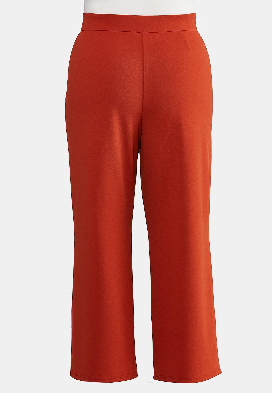 Plus Petite High-Rise Trouser Pants (Item #44188713)