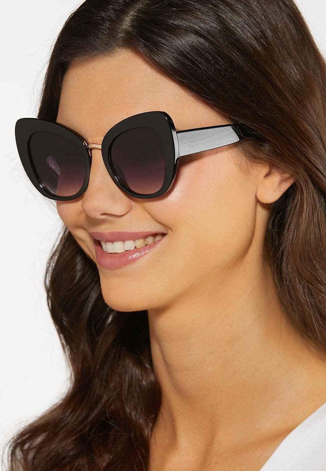 Wide Frame Cateye Sunglasses (Item #44188751)