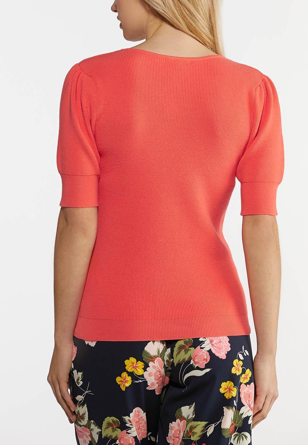 Puff Sleeve Sweater (Item #44189649)