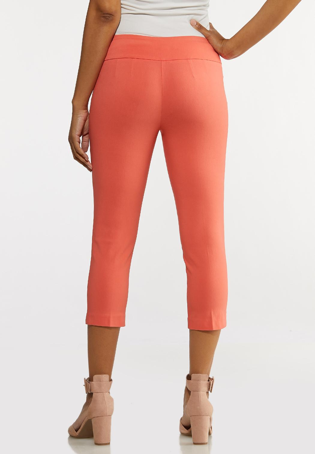 Cropped Coral Sailor Pants (Item #44190305)