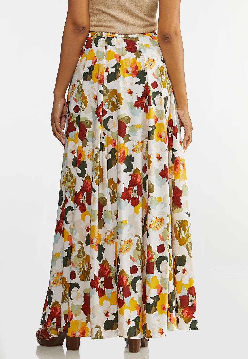 Painted Floral Skirt (Item #44192619)