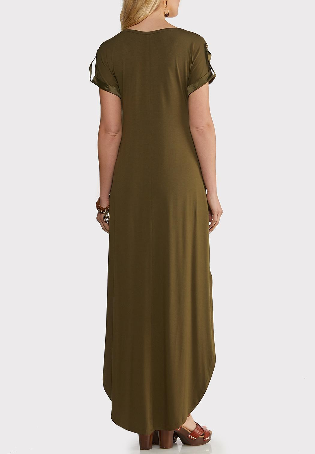 Plus Size Cute Tee Maxi Dress (Item #44194221)