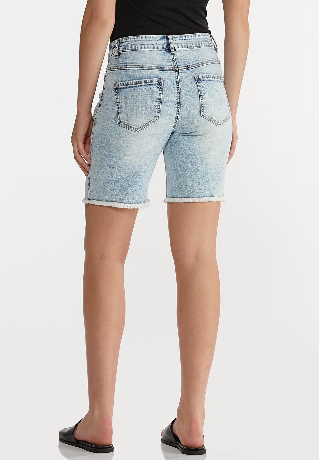 Vintage Wash Denim Shorts (Item #44197751)