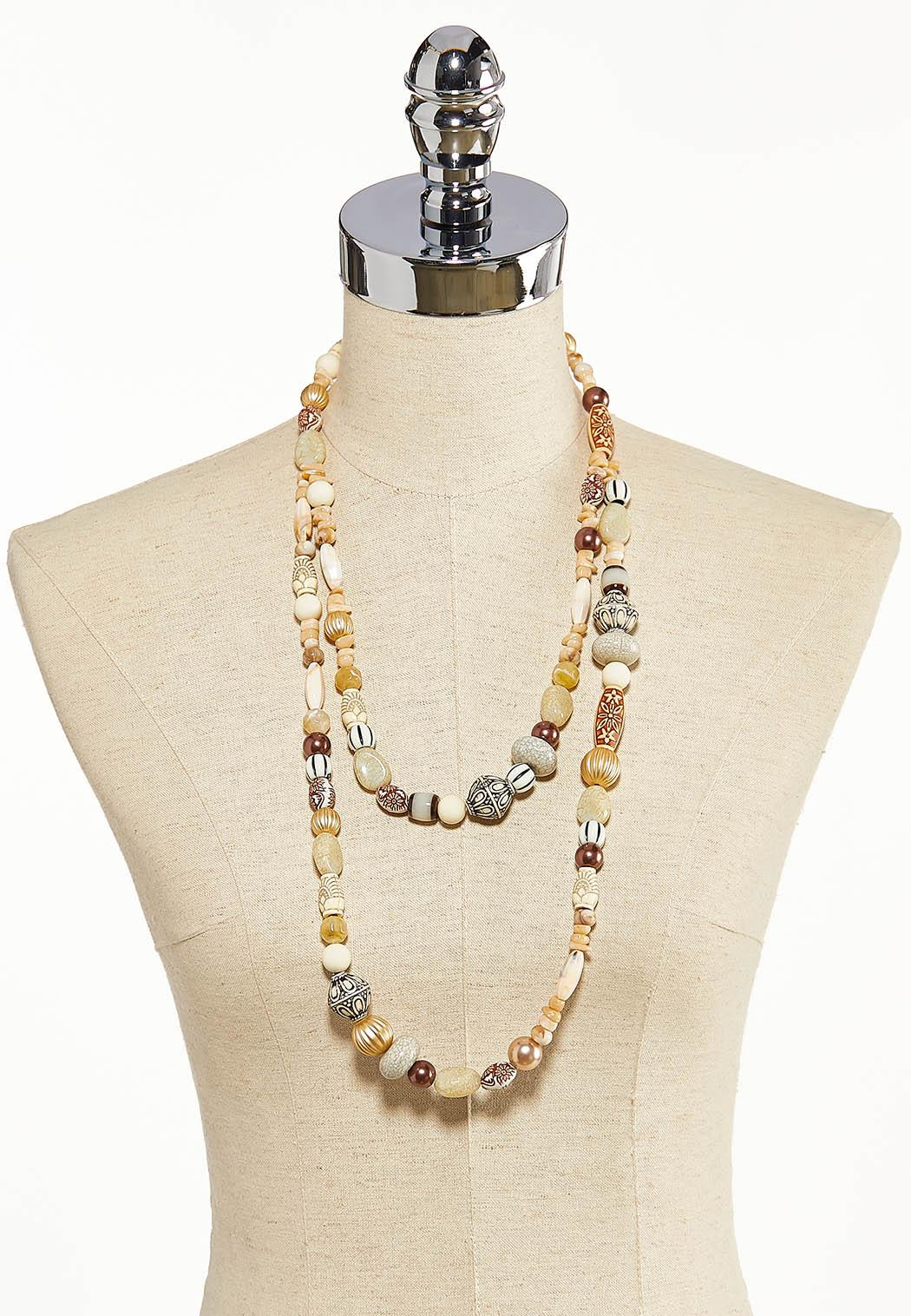 Two-Row Beaded Necklace (Item #44202873)