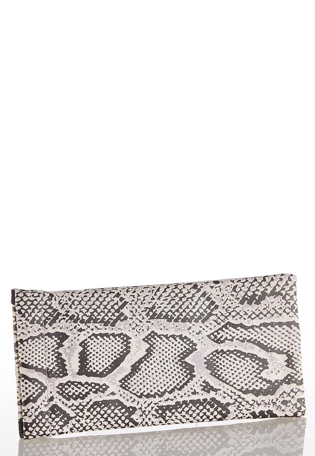 Snakeskin Glitter Sunglasses Case (Item #44203233)
