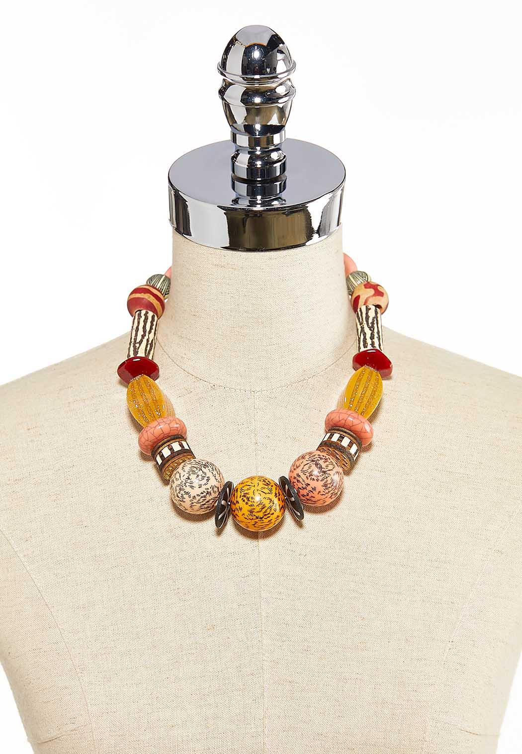 Multi Bead Necklace (Item #44203998)