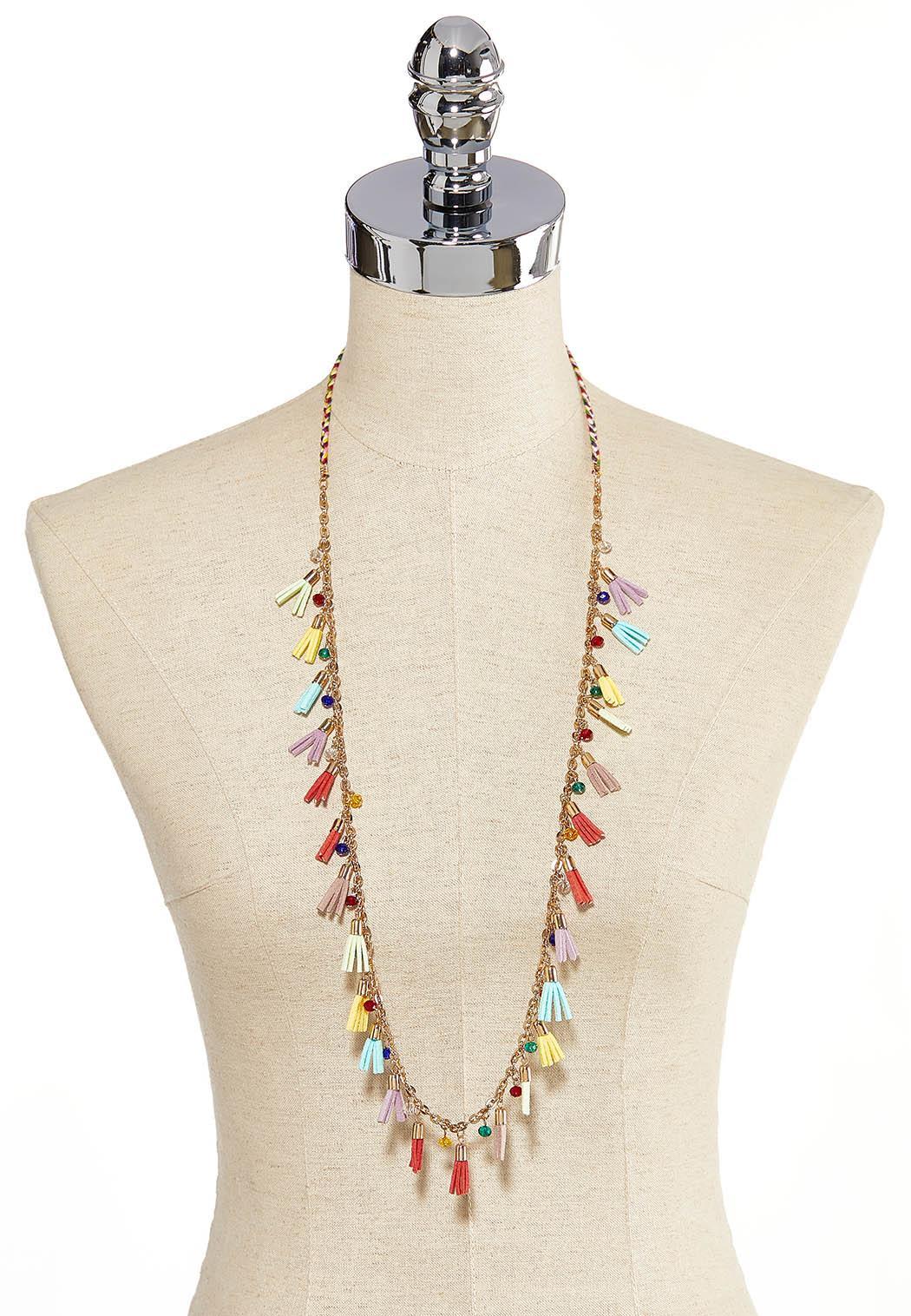 Fiesta Tassel Long Necklace (Item #44205436)