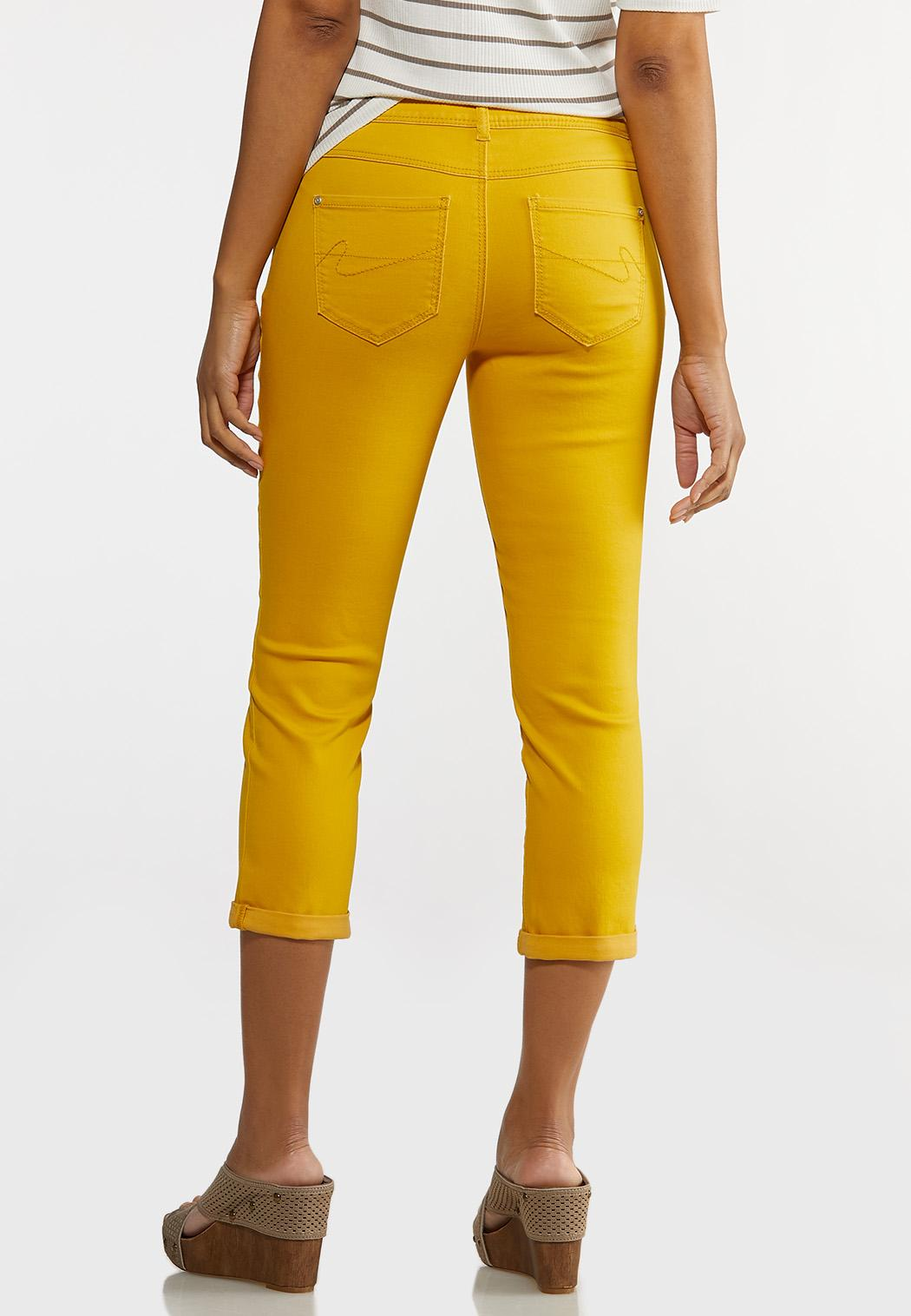 Bright Cropped Jeans (Item #44206782)