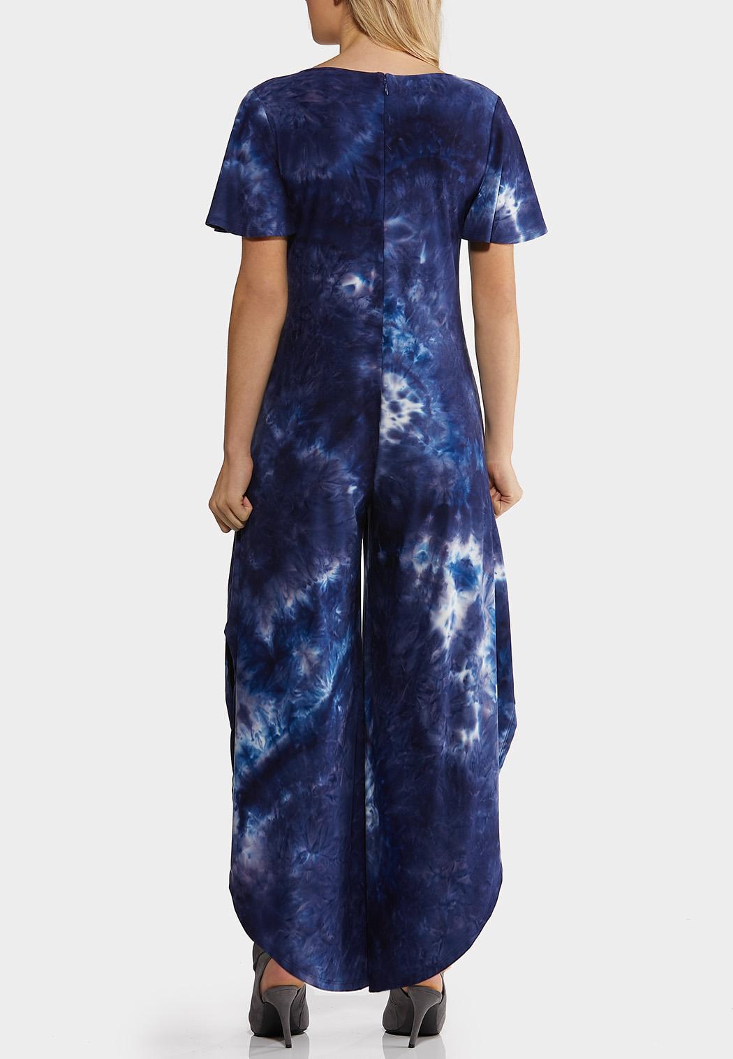 Blue Tie Dye Jumpsuit (Item #44211906)
