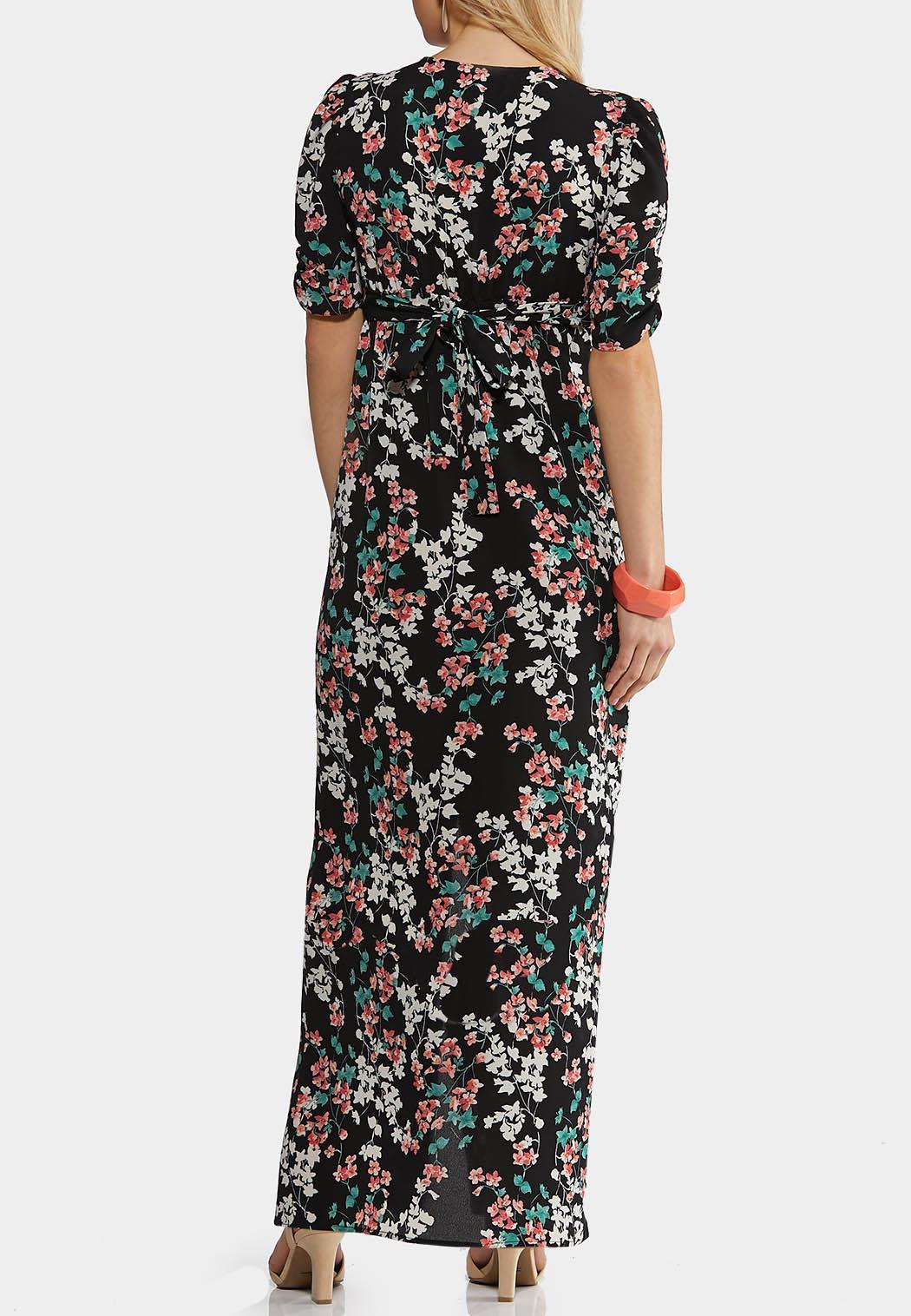 Spring Blossom Tie Waist Dress (Item #44212031)