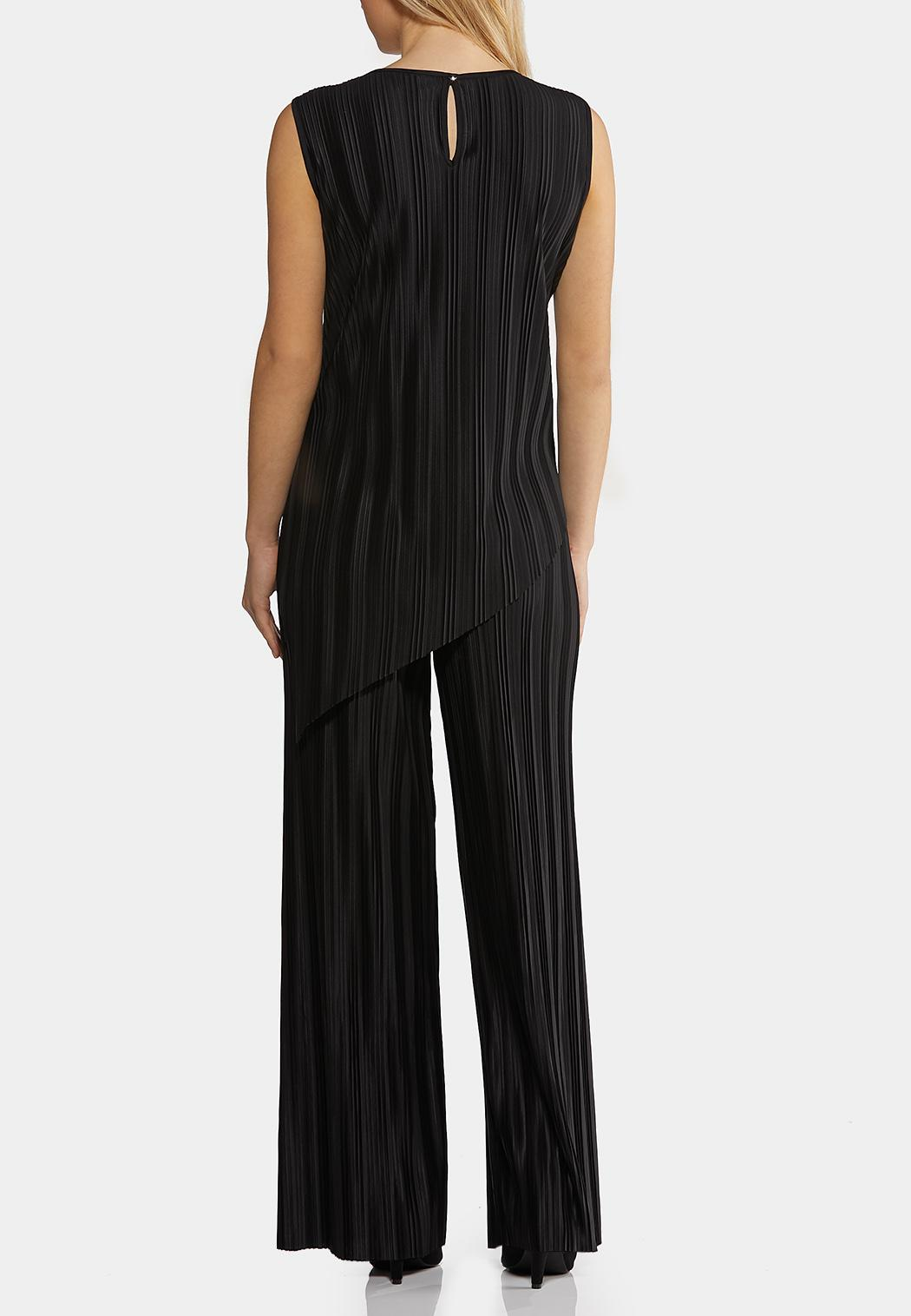 Black Pleated Pant Set (Item #44212099)
