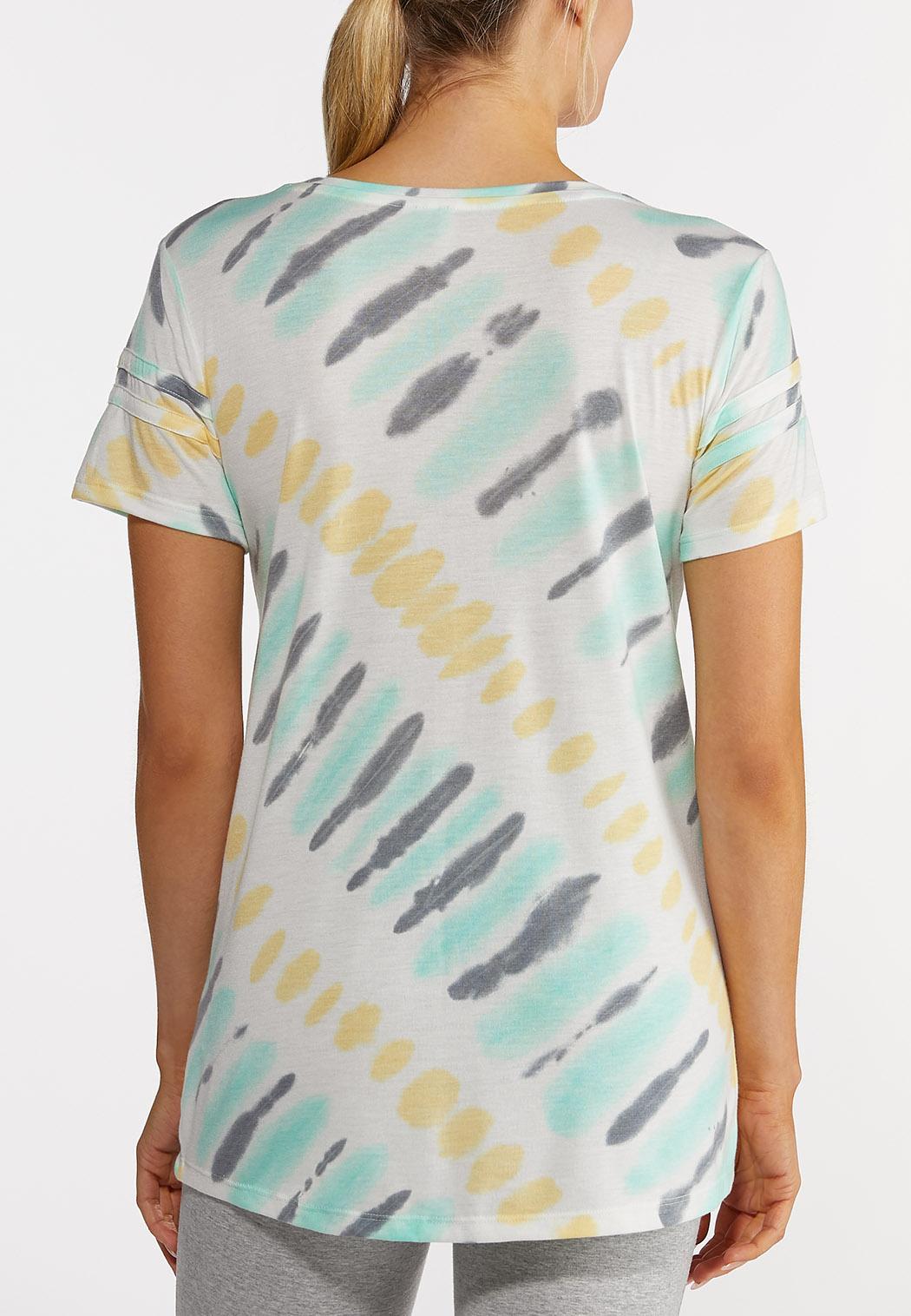 Twisted Tie Dye Tee (Item #44214040)