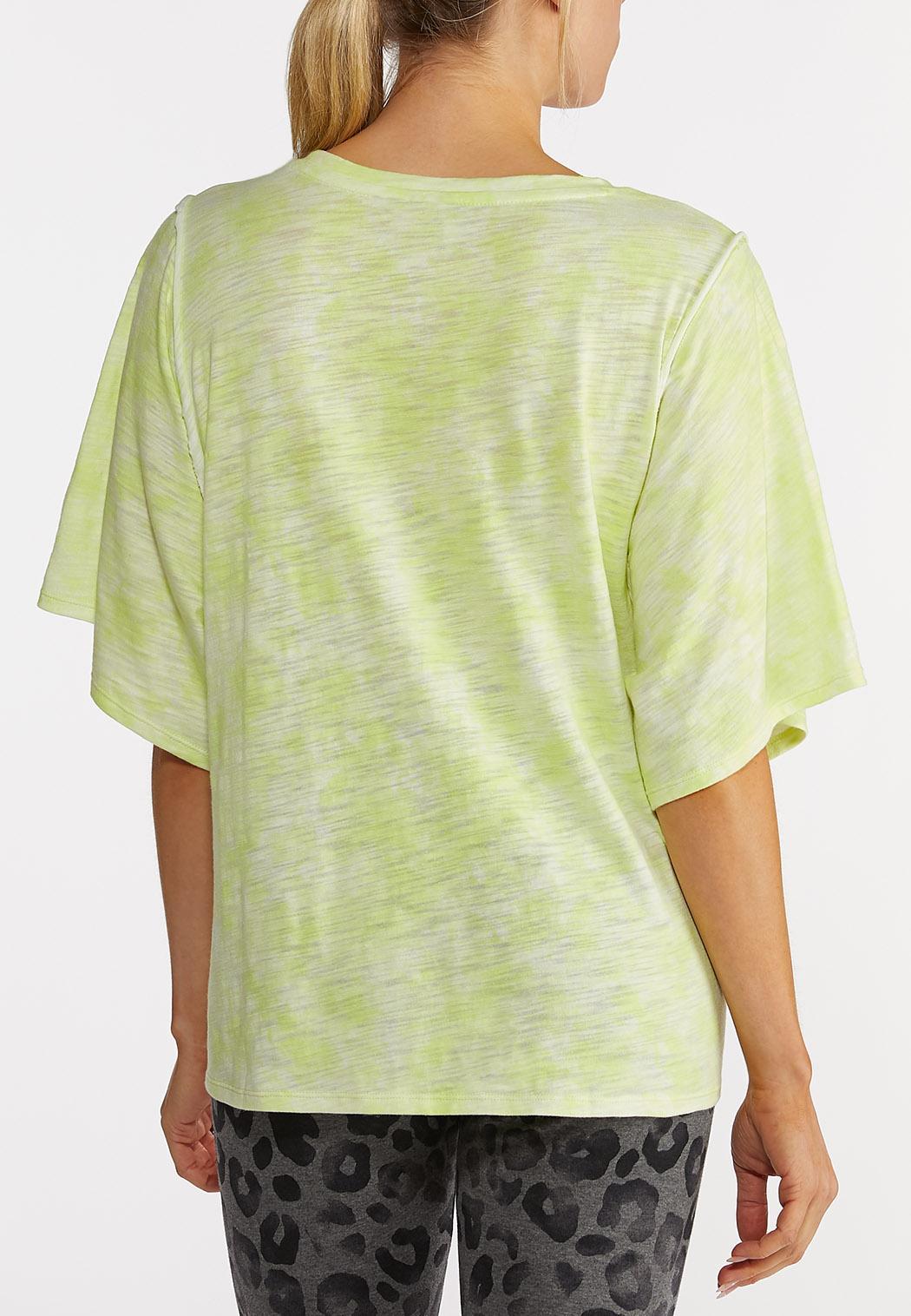 Plus Size Tie Dye Tee (Item #44214144)