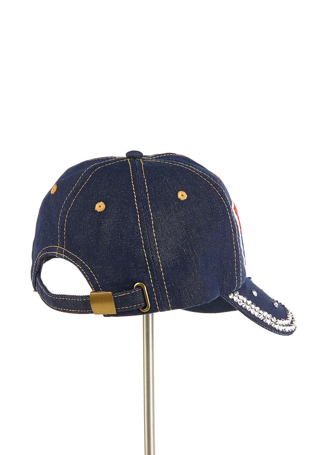 USA Embellished Denim Hat (Item #44215050)