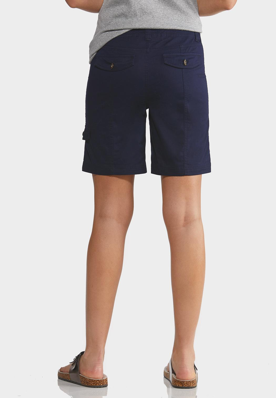 Solid Cargo Shorts (Item #44215152)
