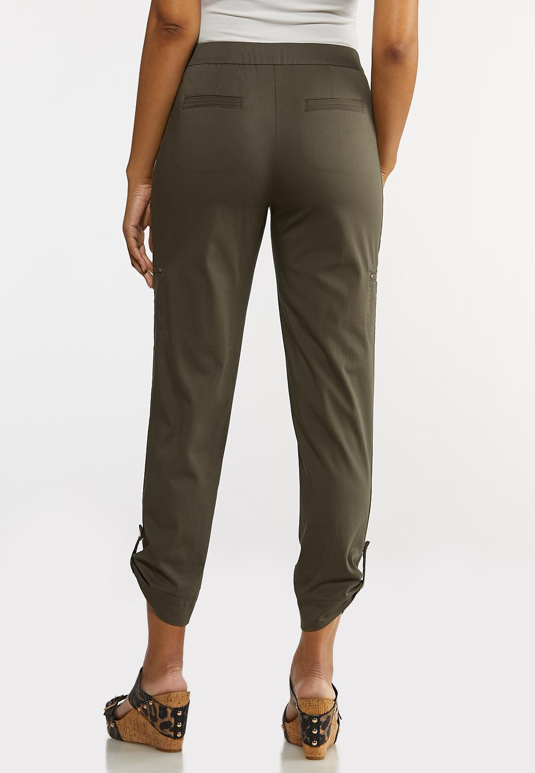 Cropped Utility Pants (Item #44215332)