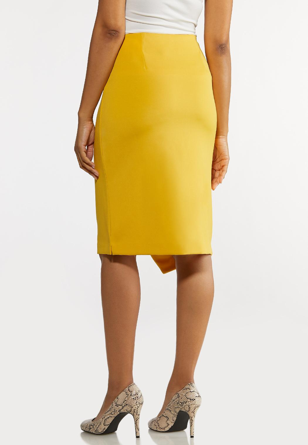 Wrap Pencil Skirt (Item #44215793)