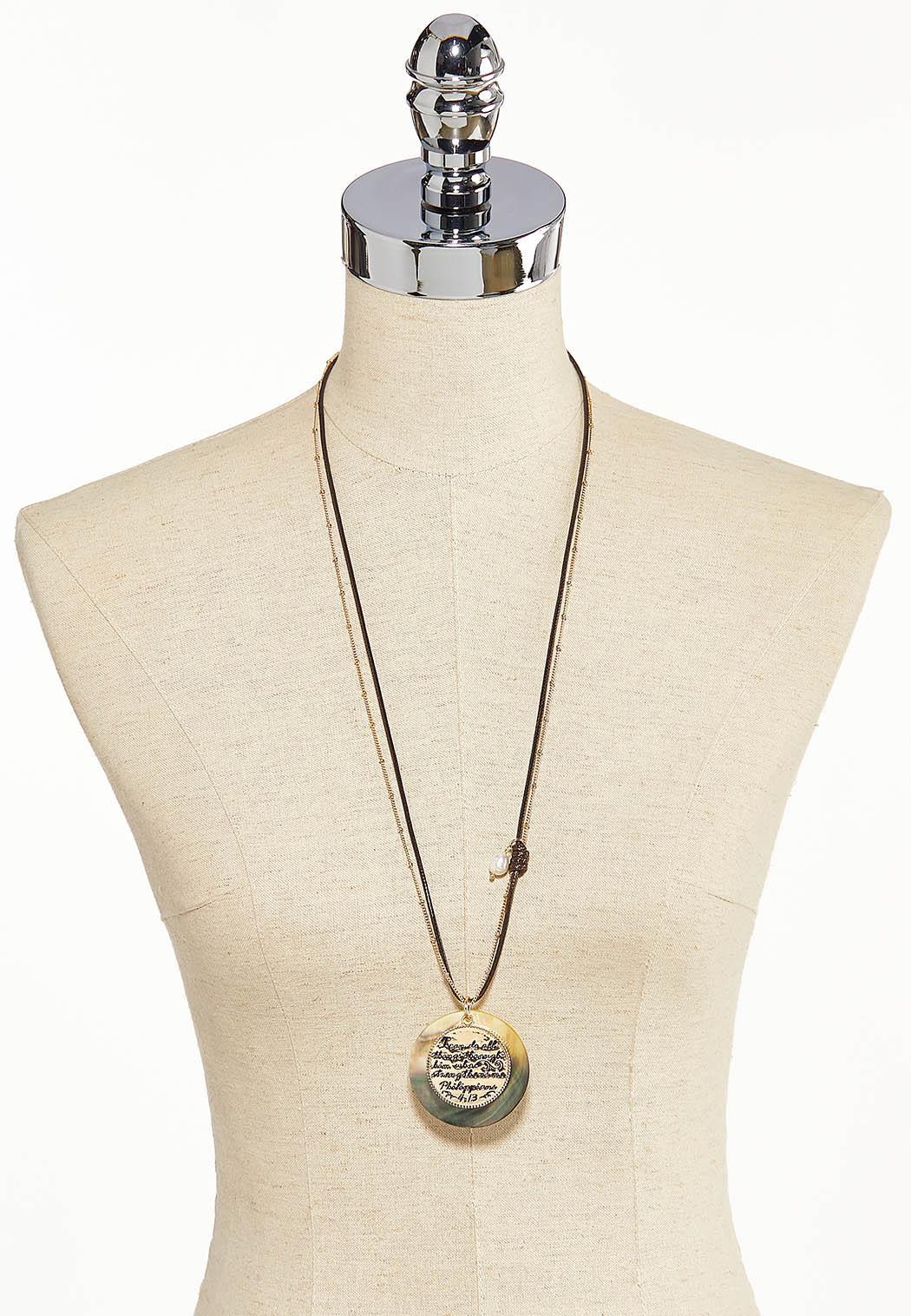 Philippians Pendant Necklace (Item #44217879)
