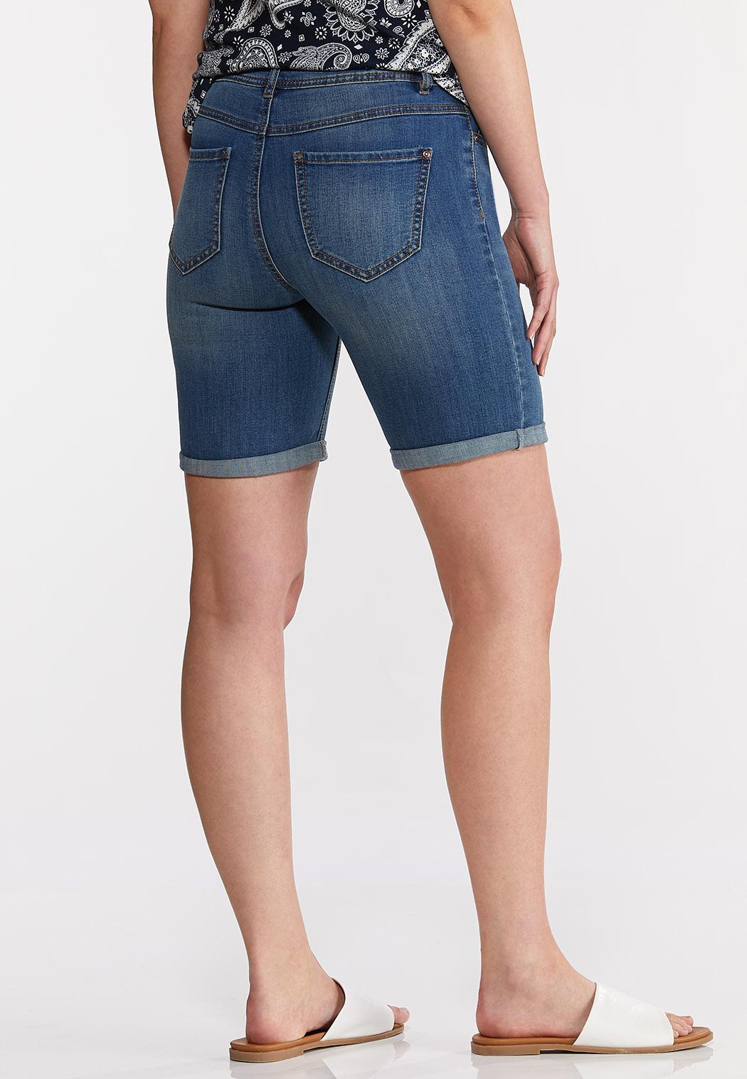 Denim Bermuda Shorts (Item #44222424)