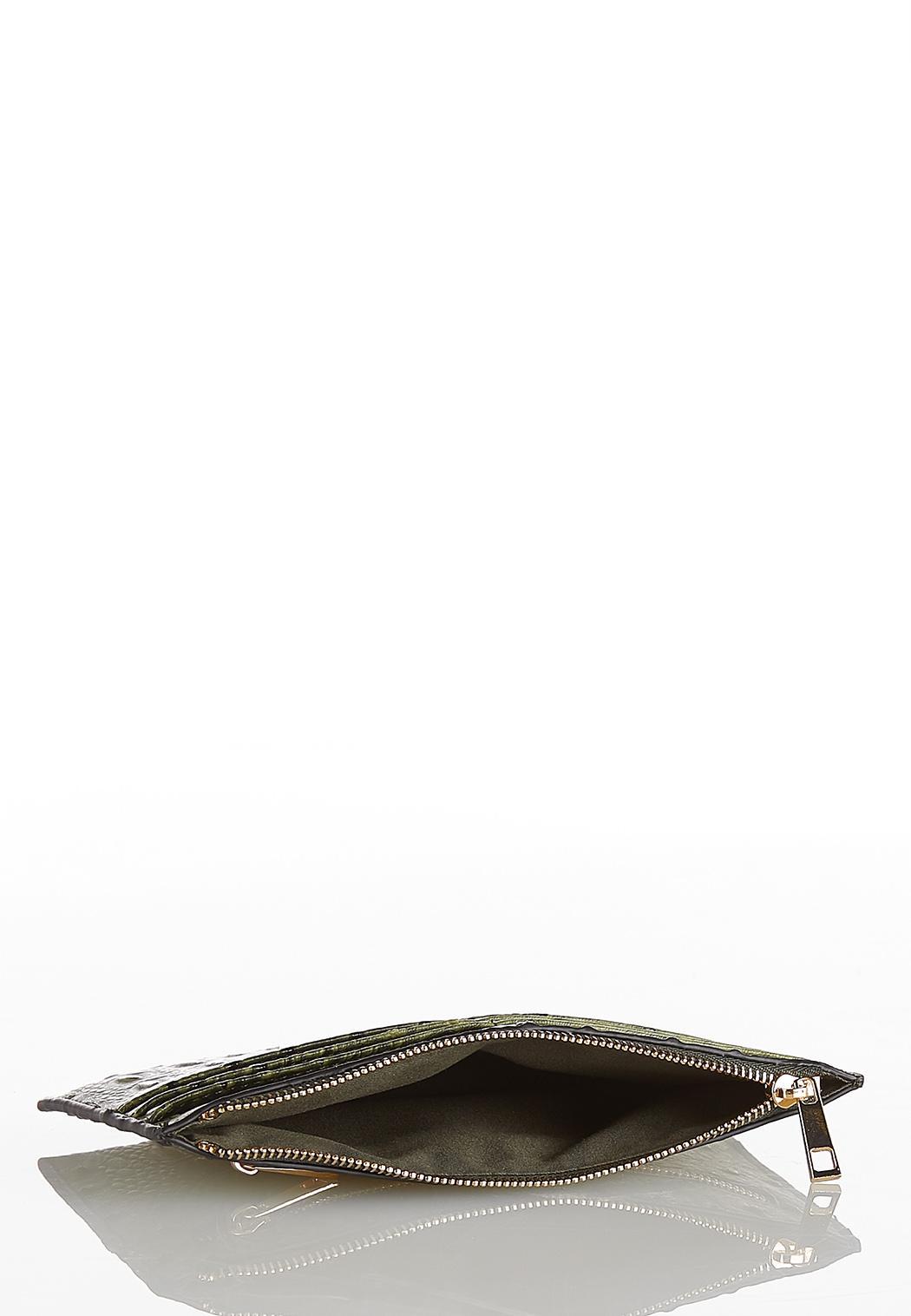Ostrich Mini Wallet (Item #44226348)