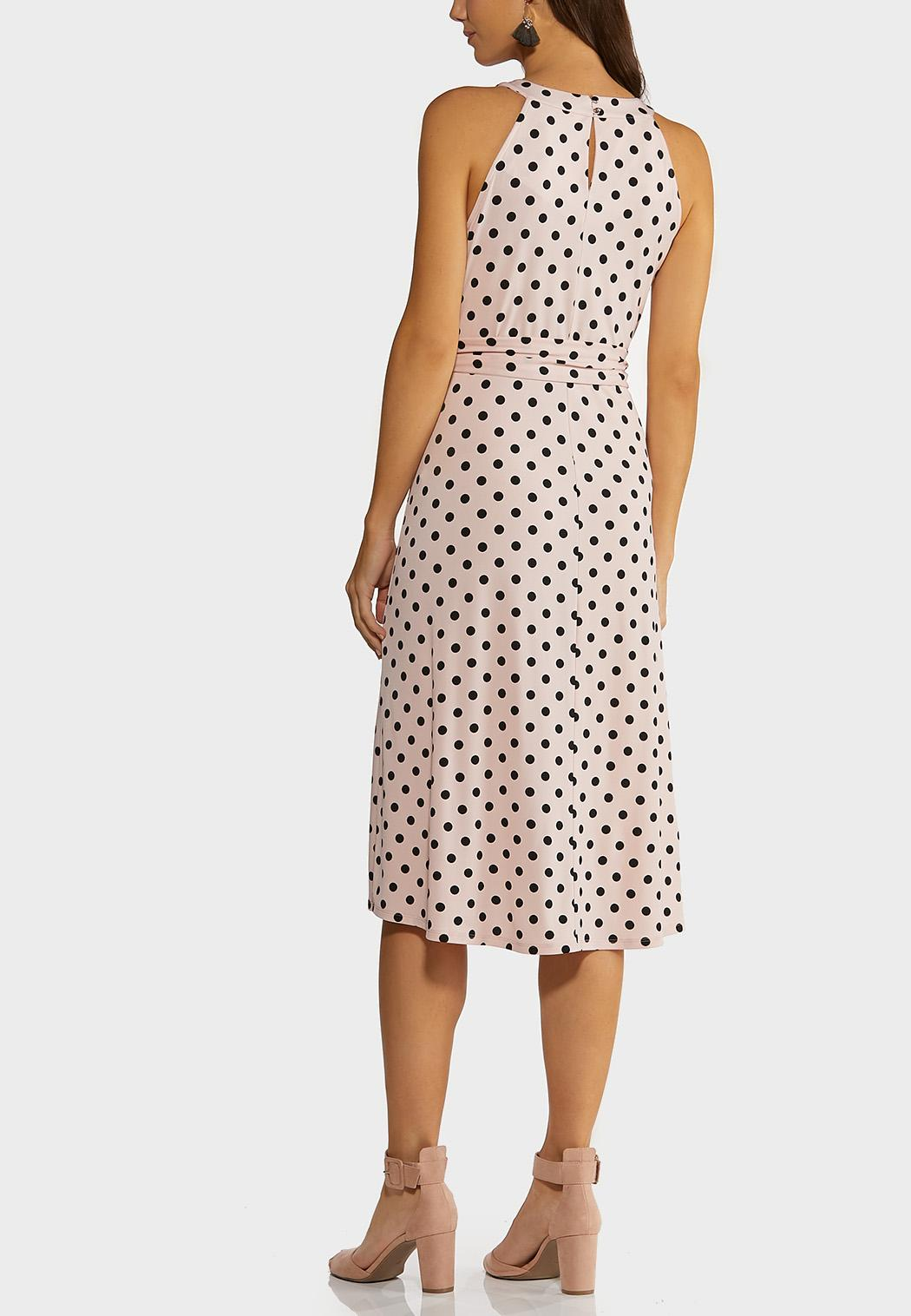 Pink Polka Dot Dress (Item #44226376)