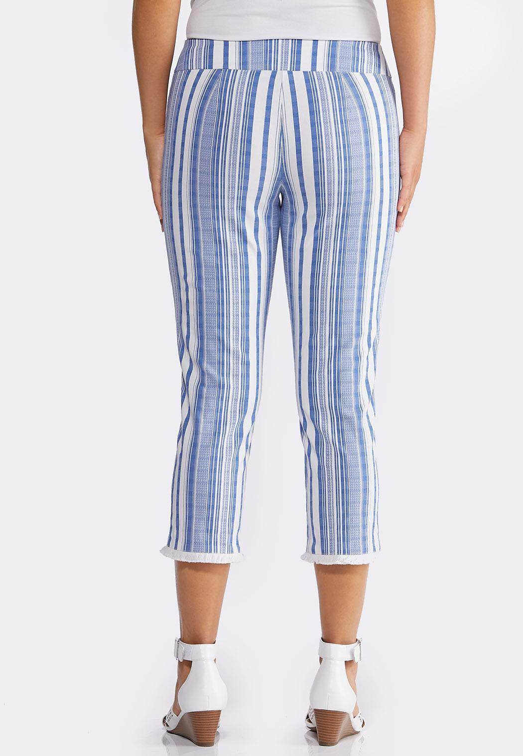 Striped Fringe Pants (Item #44229331)