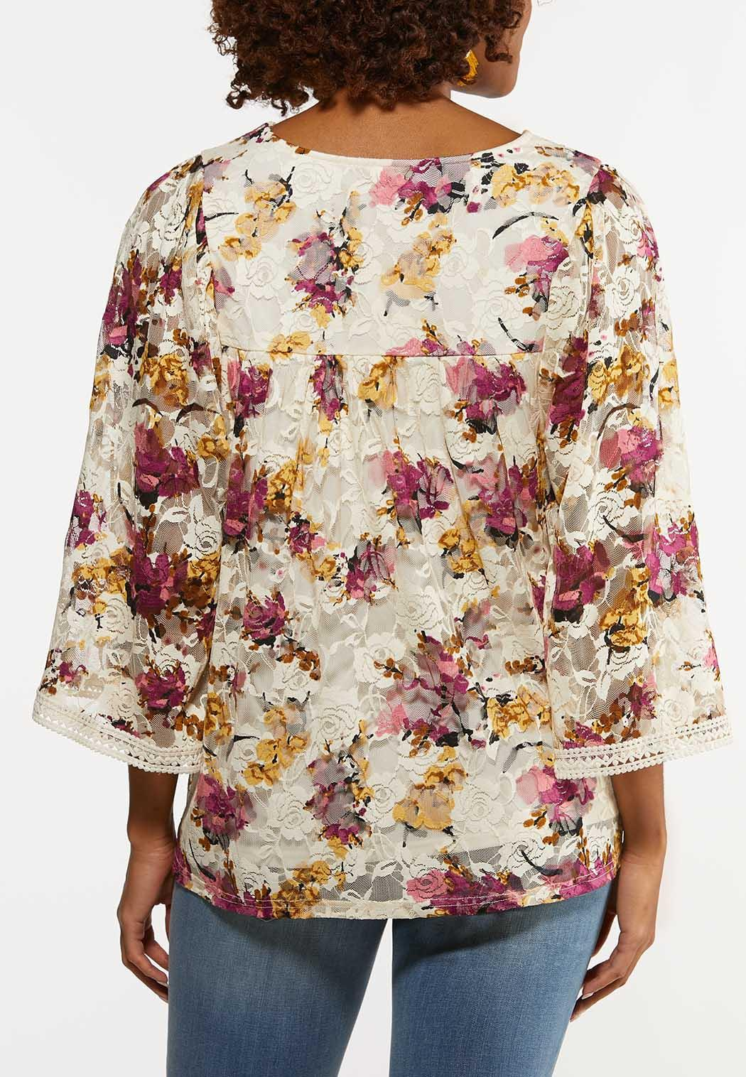 Lacy Garden Party Top (Item #44230344)