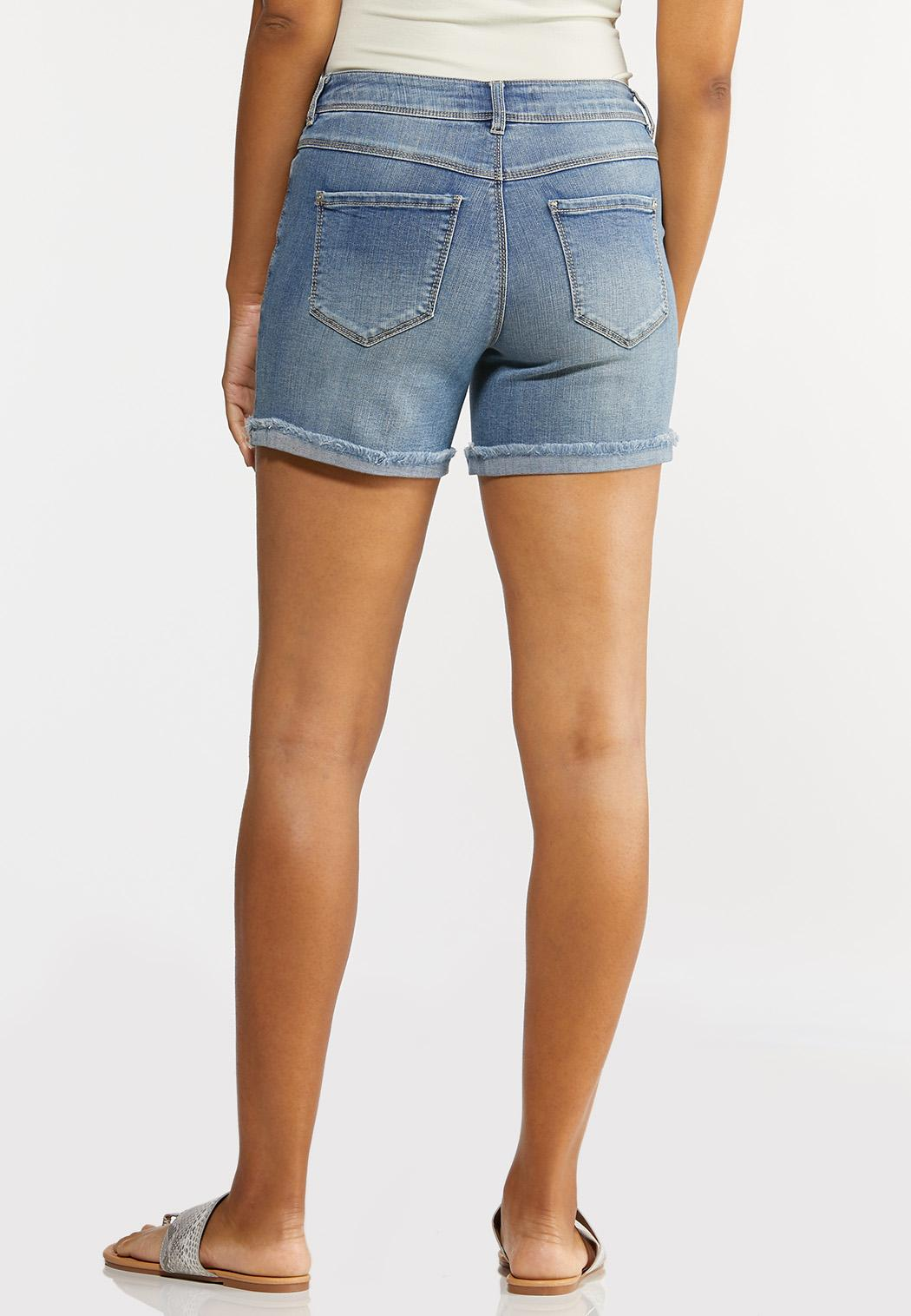 Destructed Denim Shorts (Item #44230843)