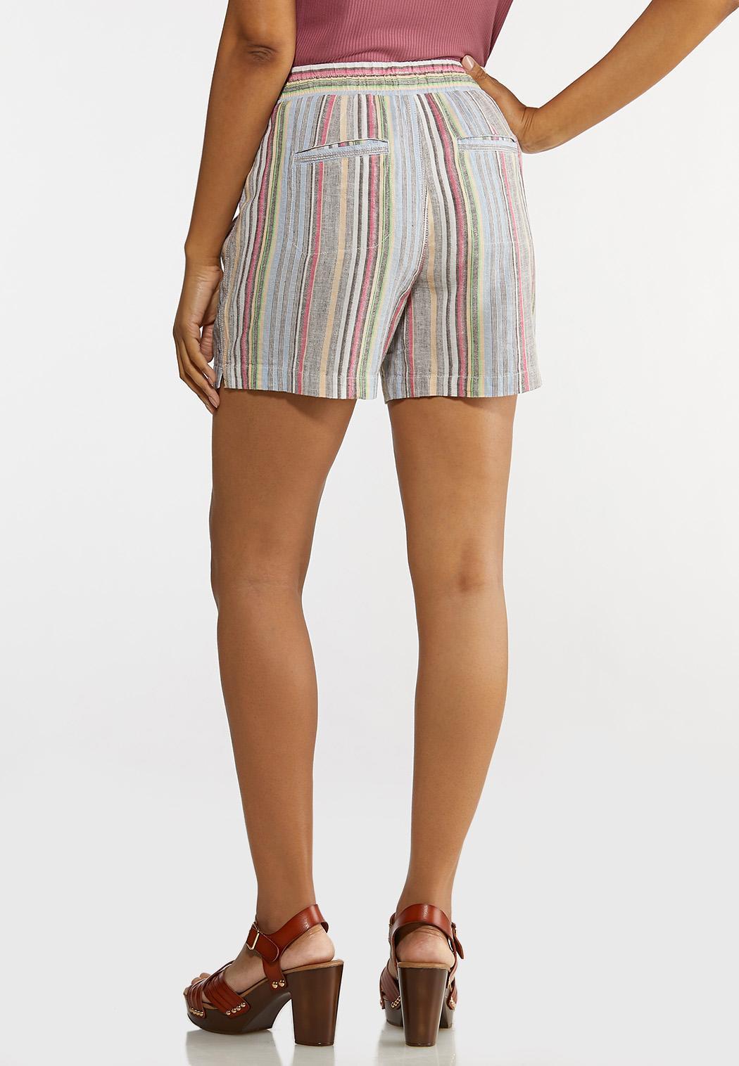 Muted Stripe Beach Shorts (Item #44231966)
