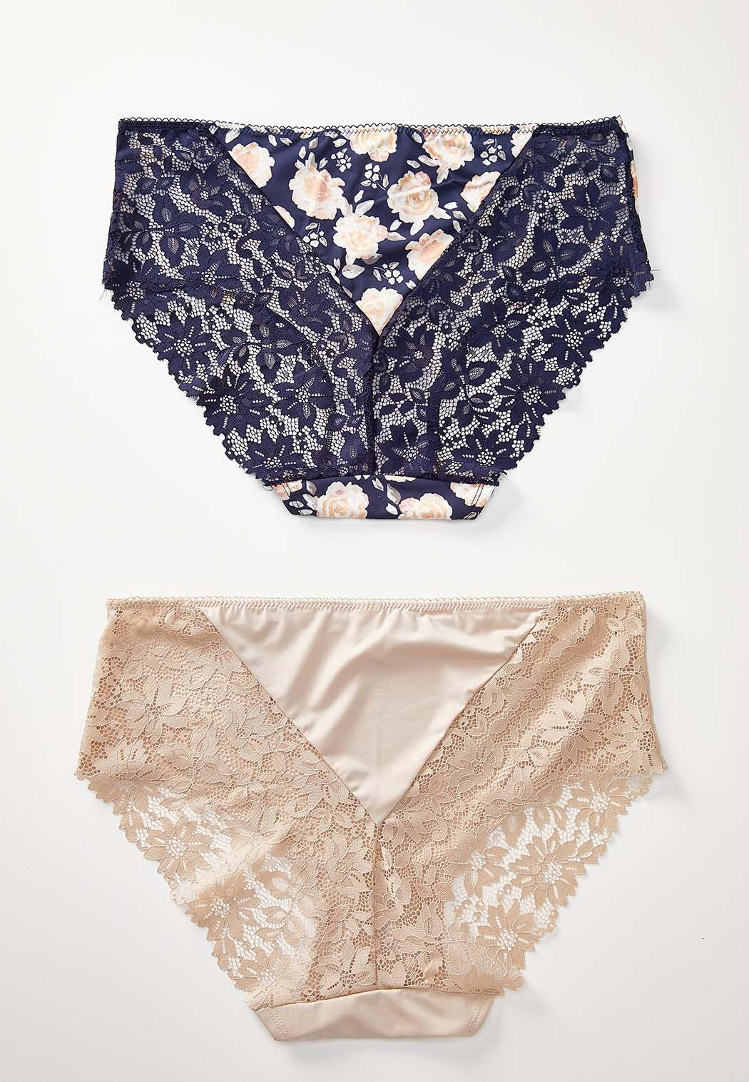 Plus Size Lace Panty Set (Item #44232650)