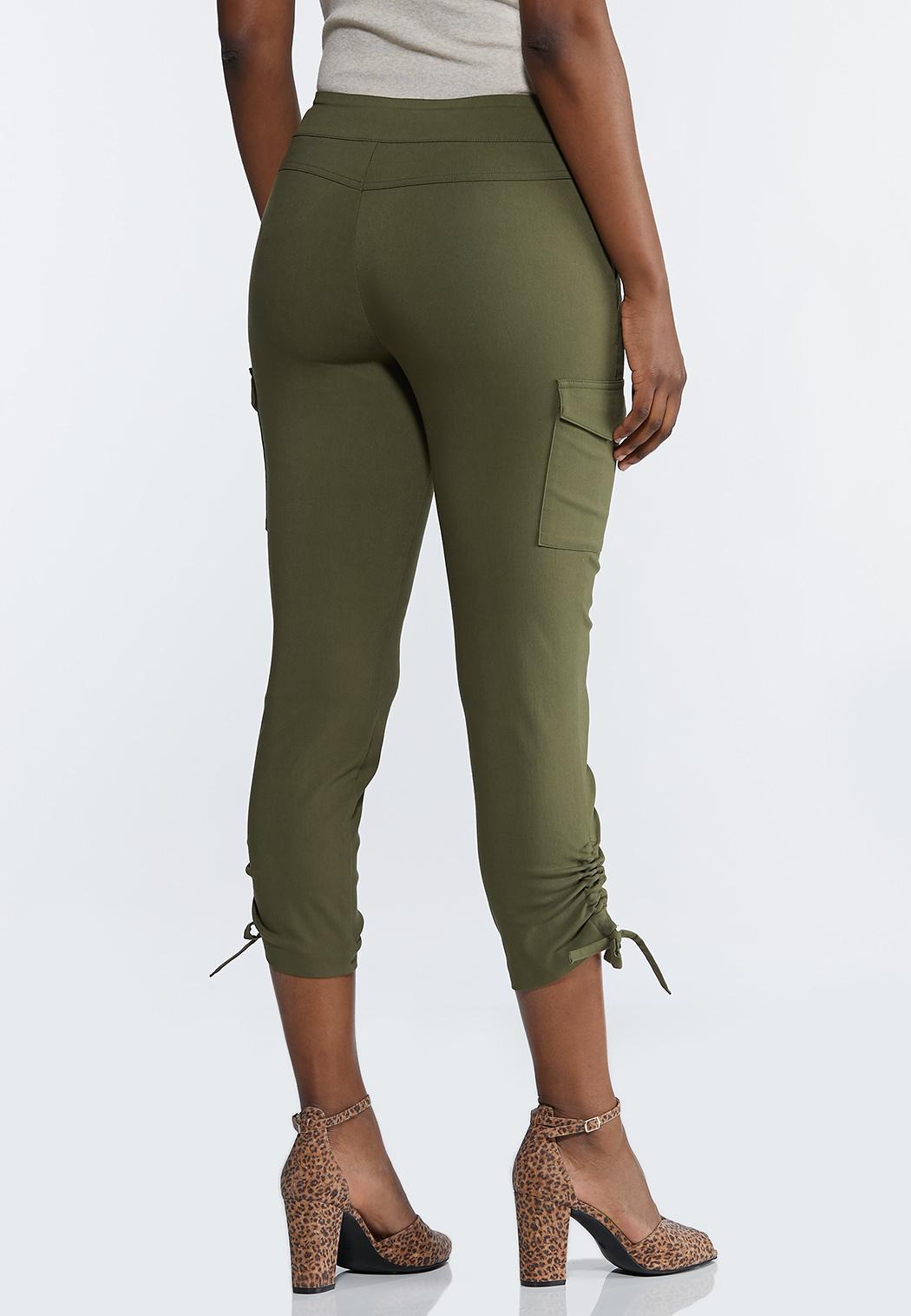 Olive Bengaline Utility Pants (Item #44232739)