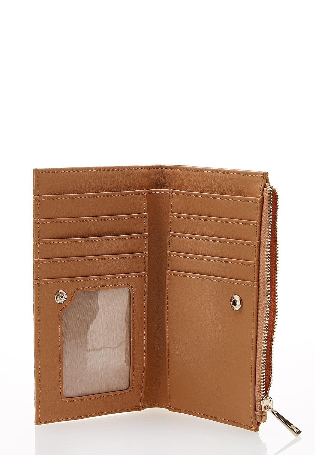 Textured Faux Leather Wallet (Item #44232743)