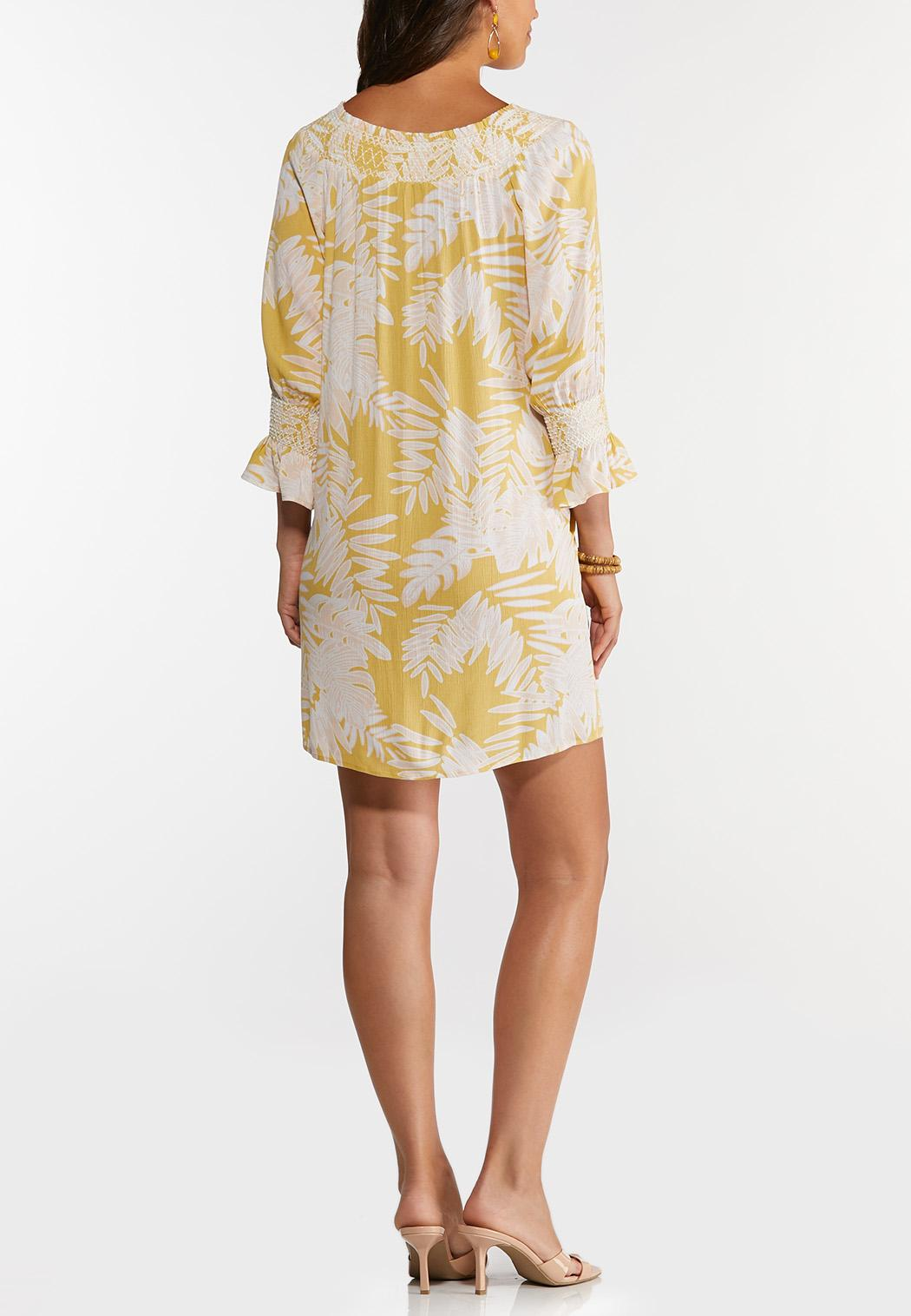 Embroidered Smocked Peasant Dress (Item #44232893)