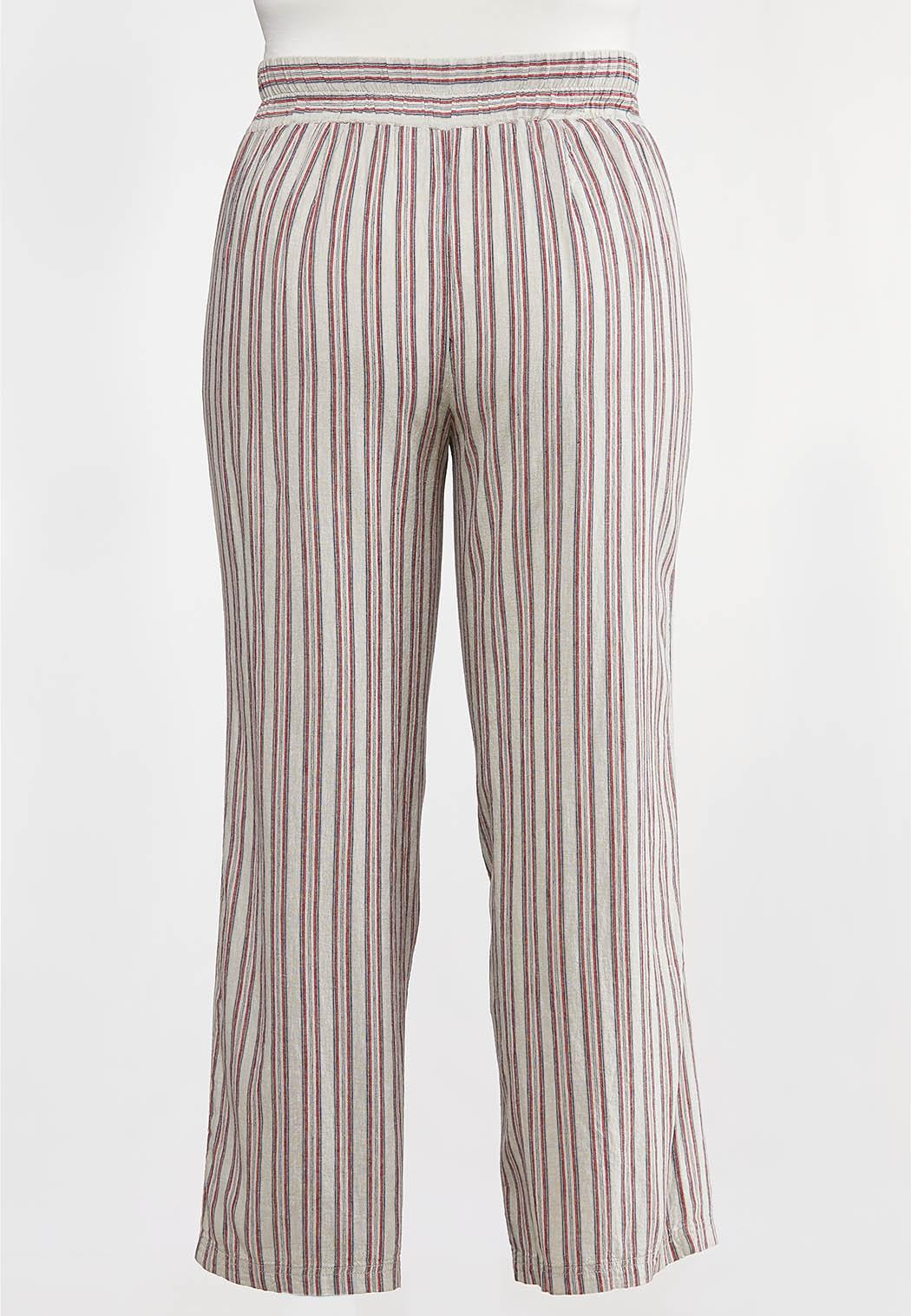 Plus Size Americana Striped Pants (Item #44233757)