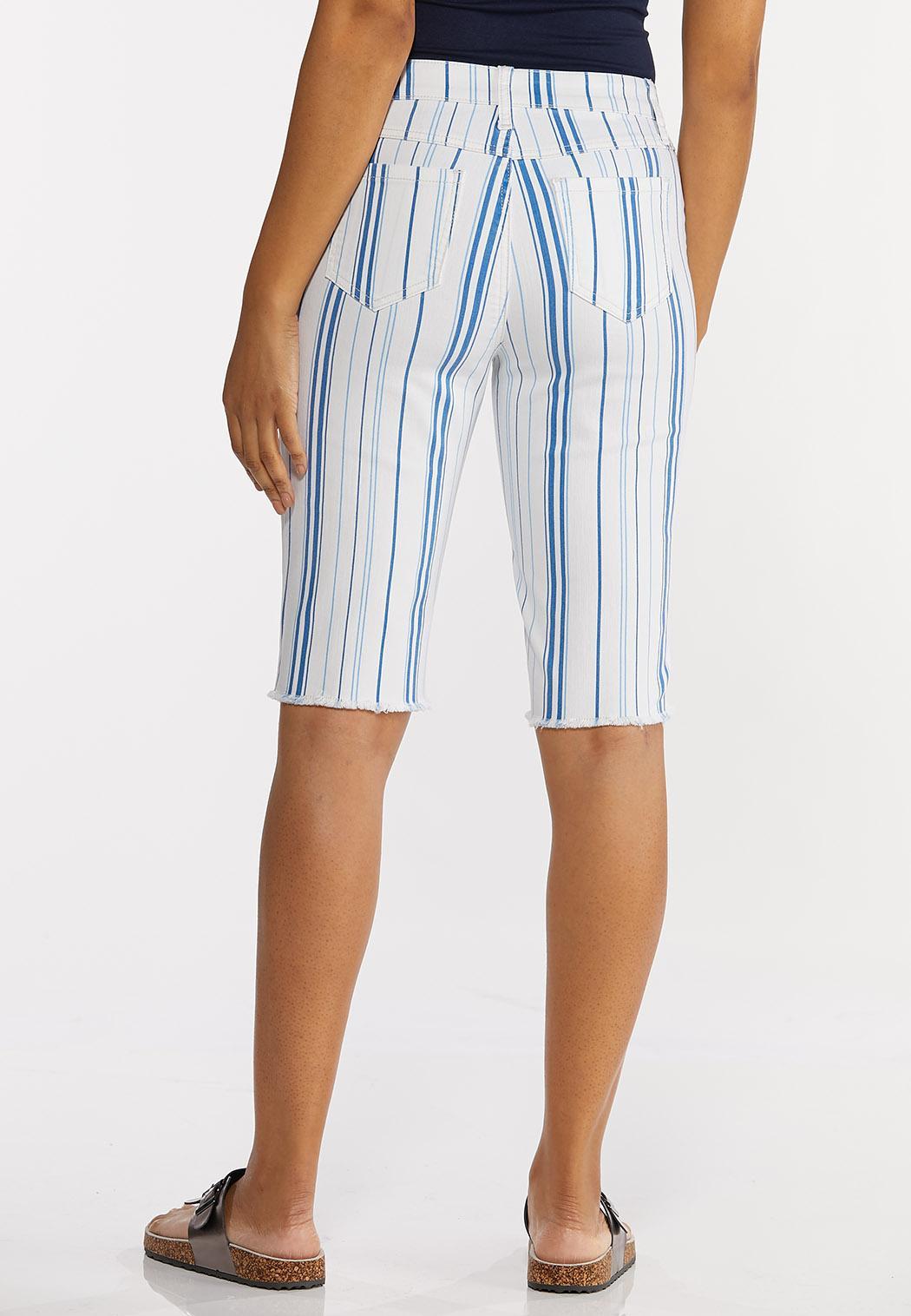 Blue Stripe Shorts (Item #44237289)