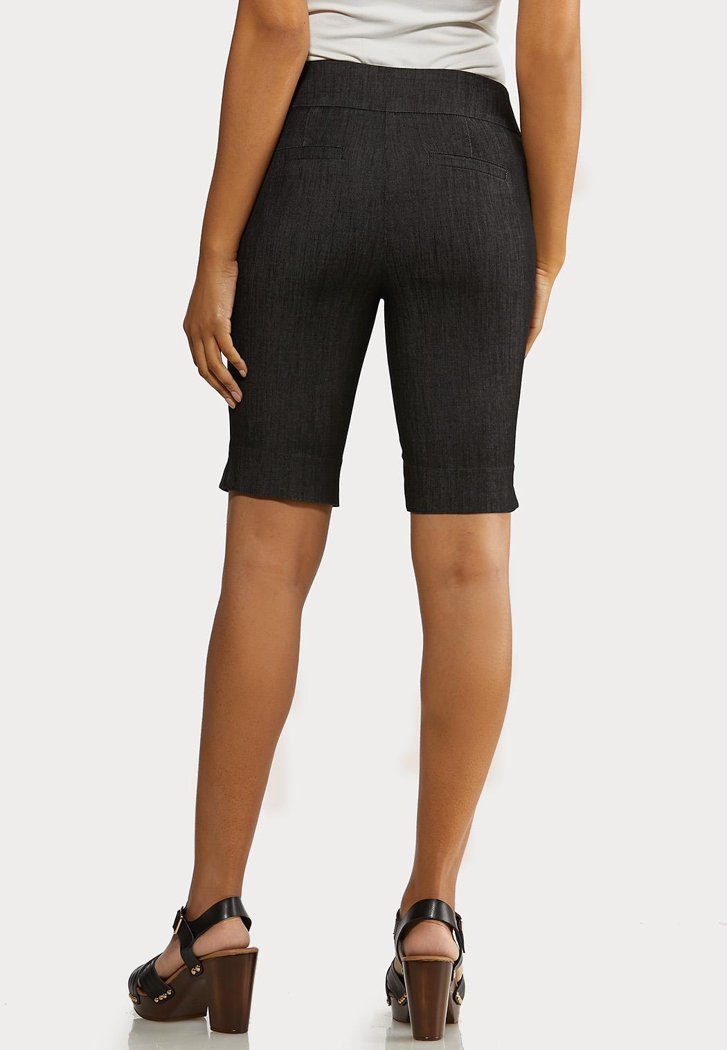 Denim Bermuda Shorts (Item #44237684)