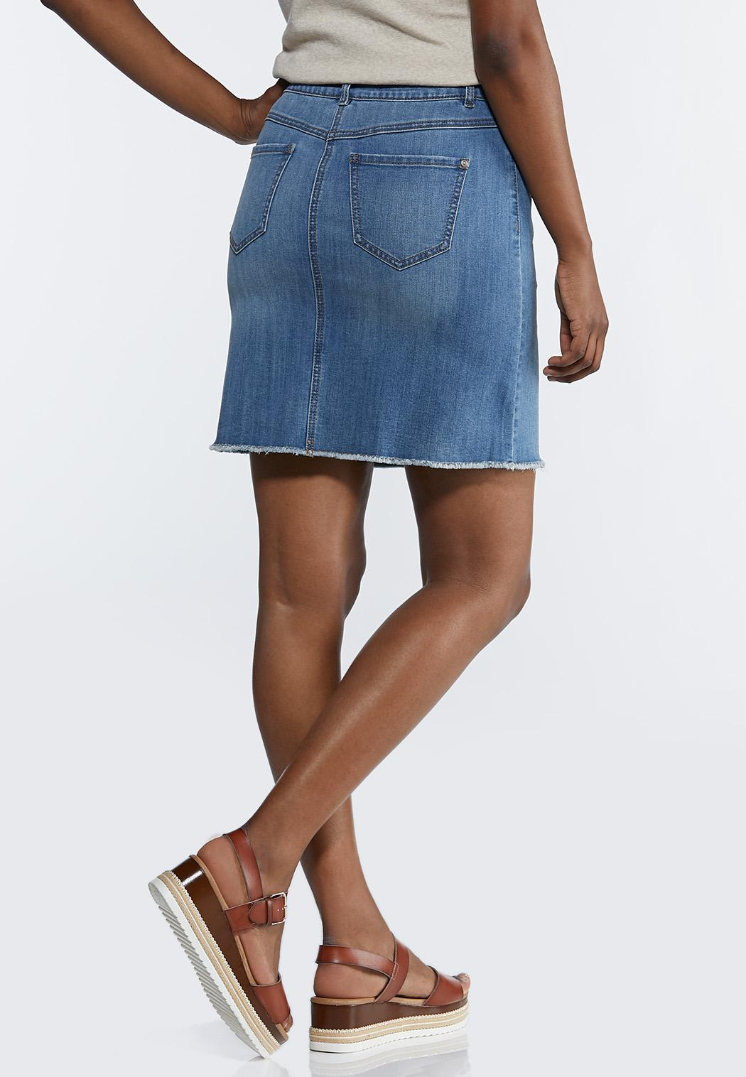 Denim Mini Skirt (Item #44238835)