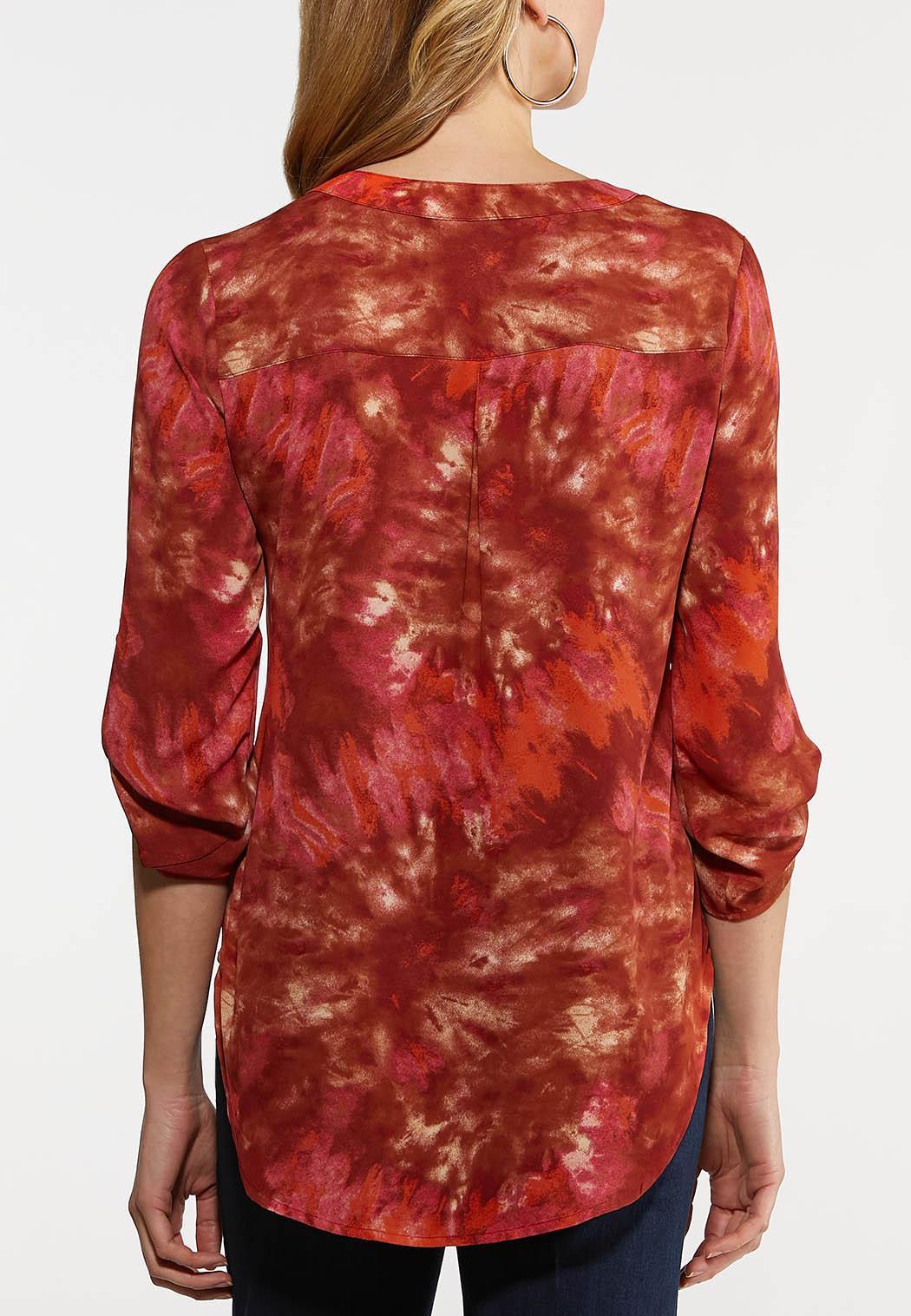 Raspberry Tie Dye Top (Item #44239048)