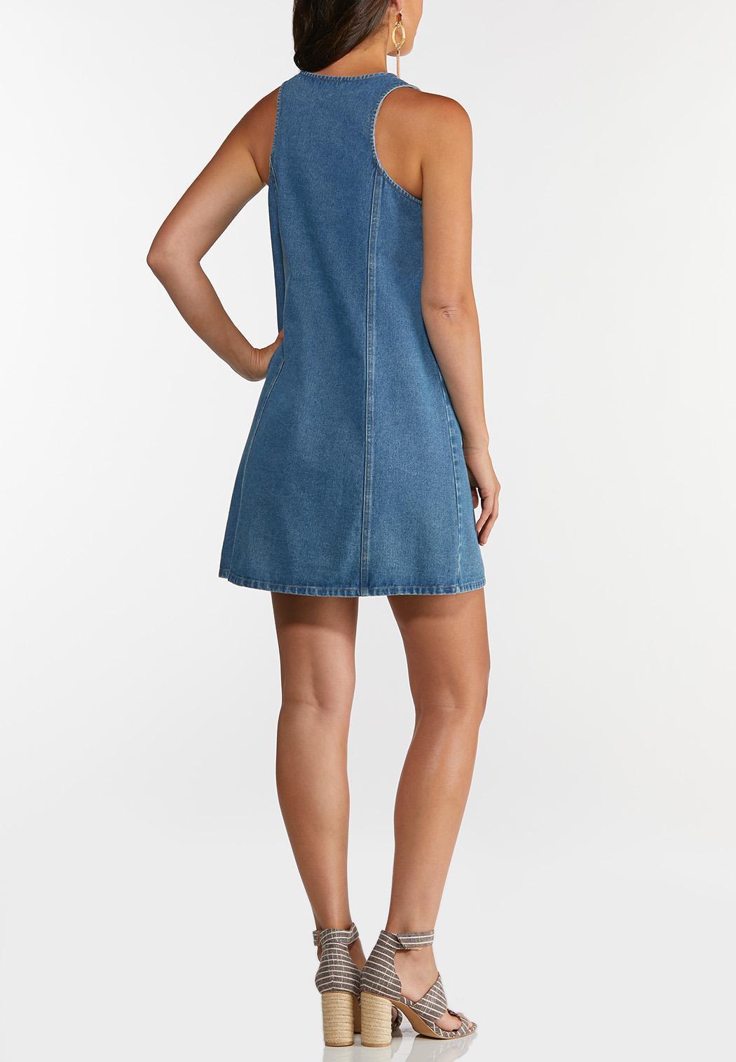 Denim Jumper Dress (Item #44239862)
