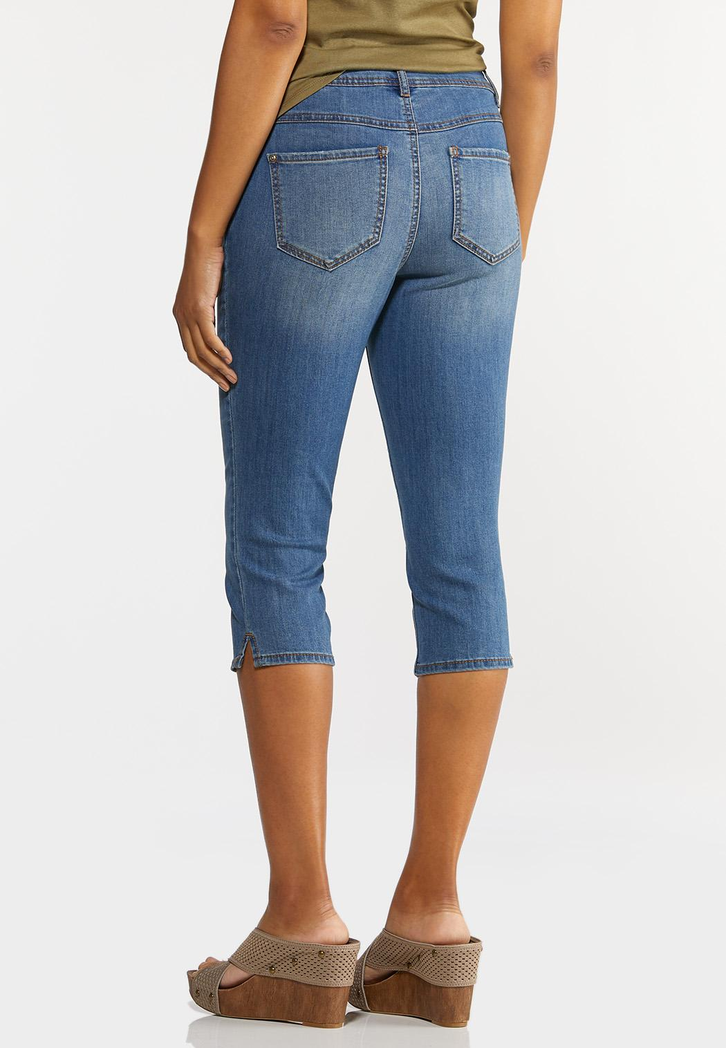 Cropped Skinny Jeans (Item #44240152)