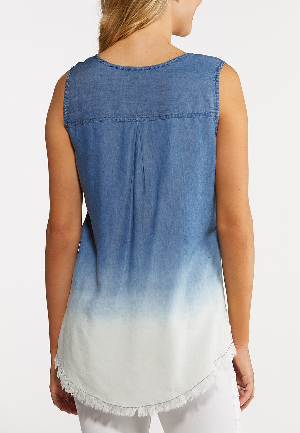 Ombre Denim Tank (Item #44240989)