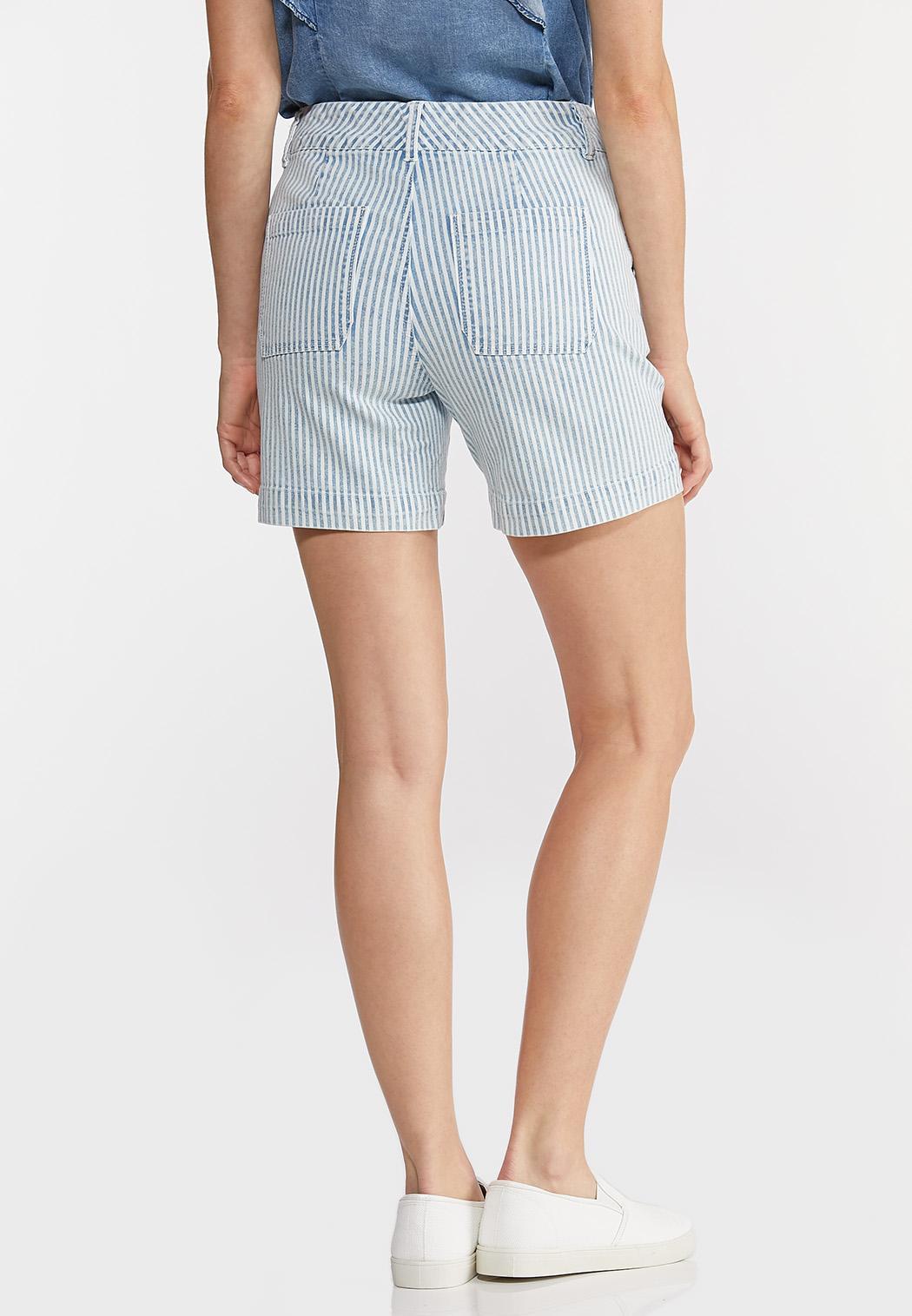 Denim Stripe Sailor Shorts (Item #44243469)