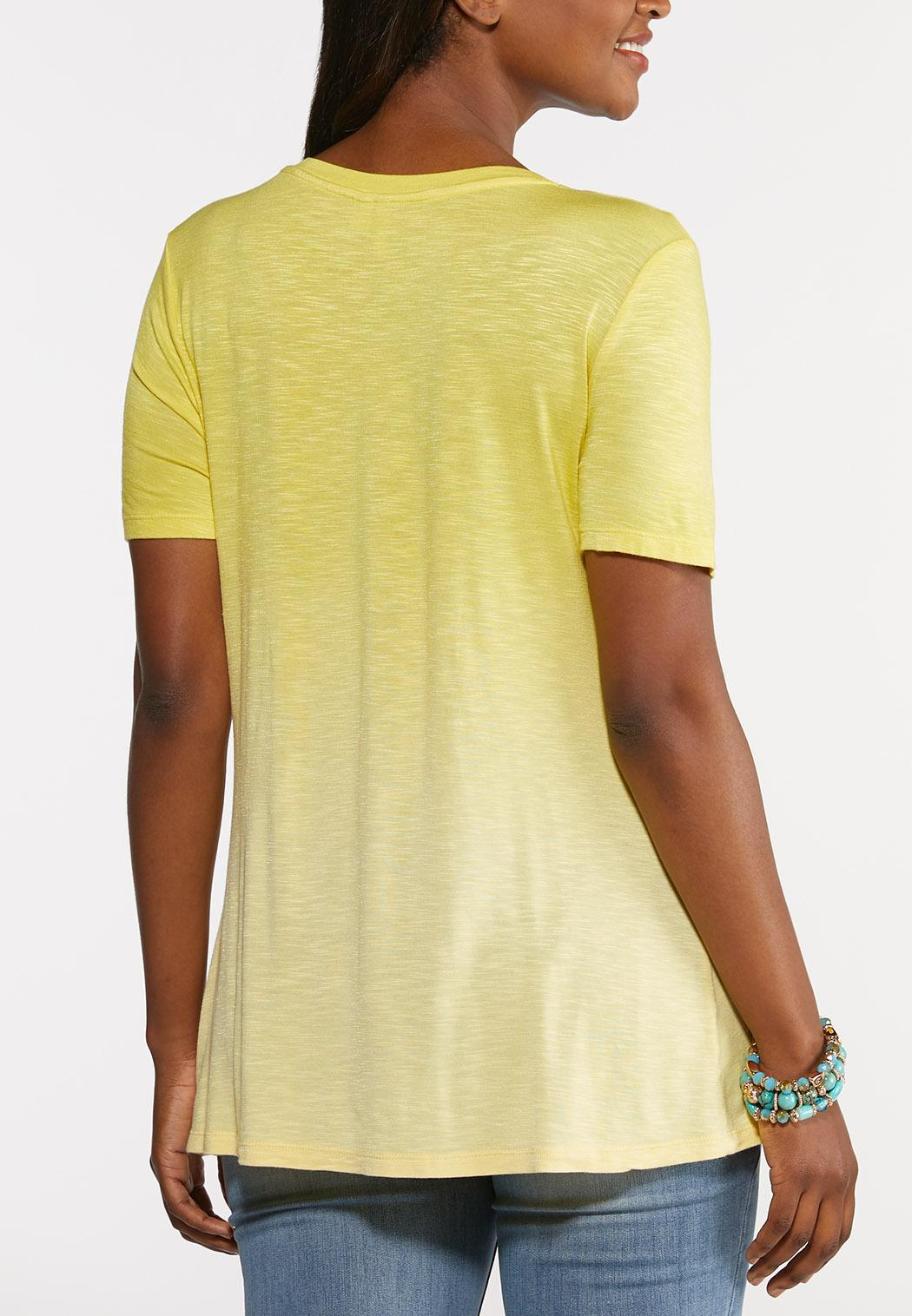 Plus Size On The Bright Side Tee (Item #44243930)