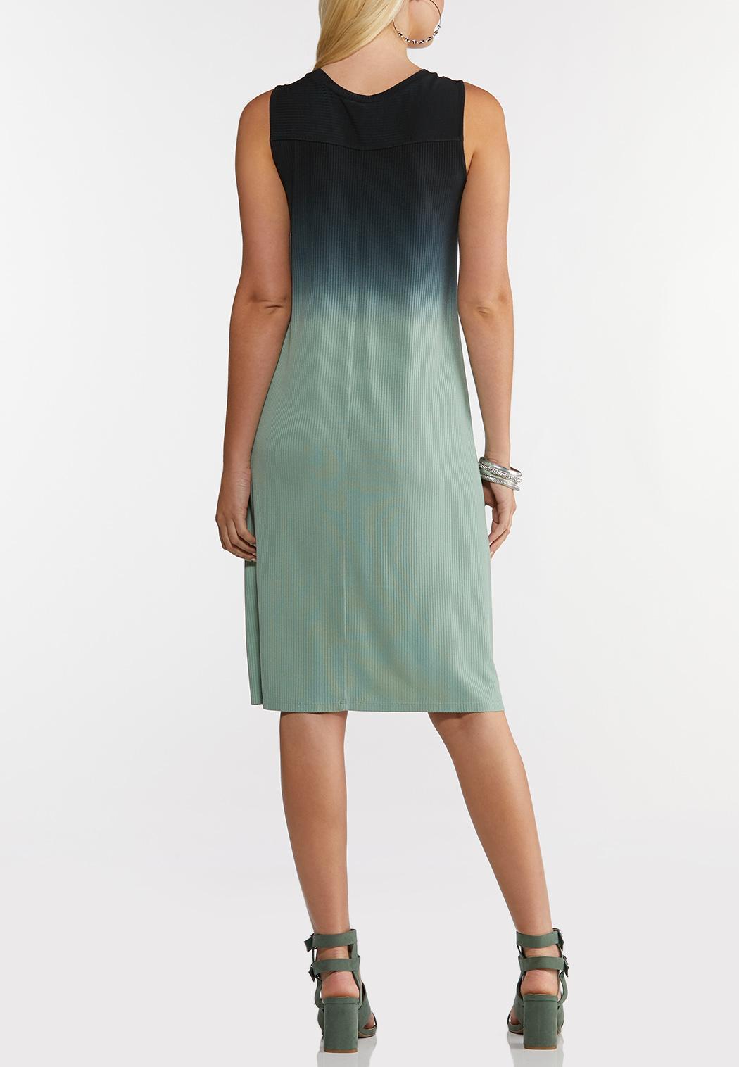 Plus Size Tie Dye Shirt Dress (Item #44243956)