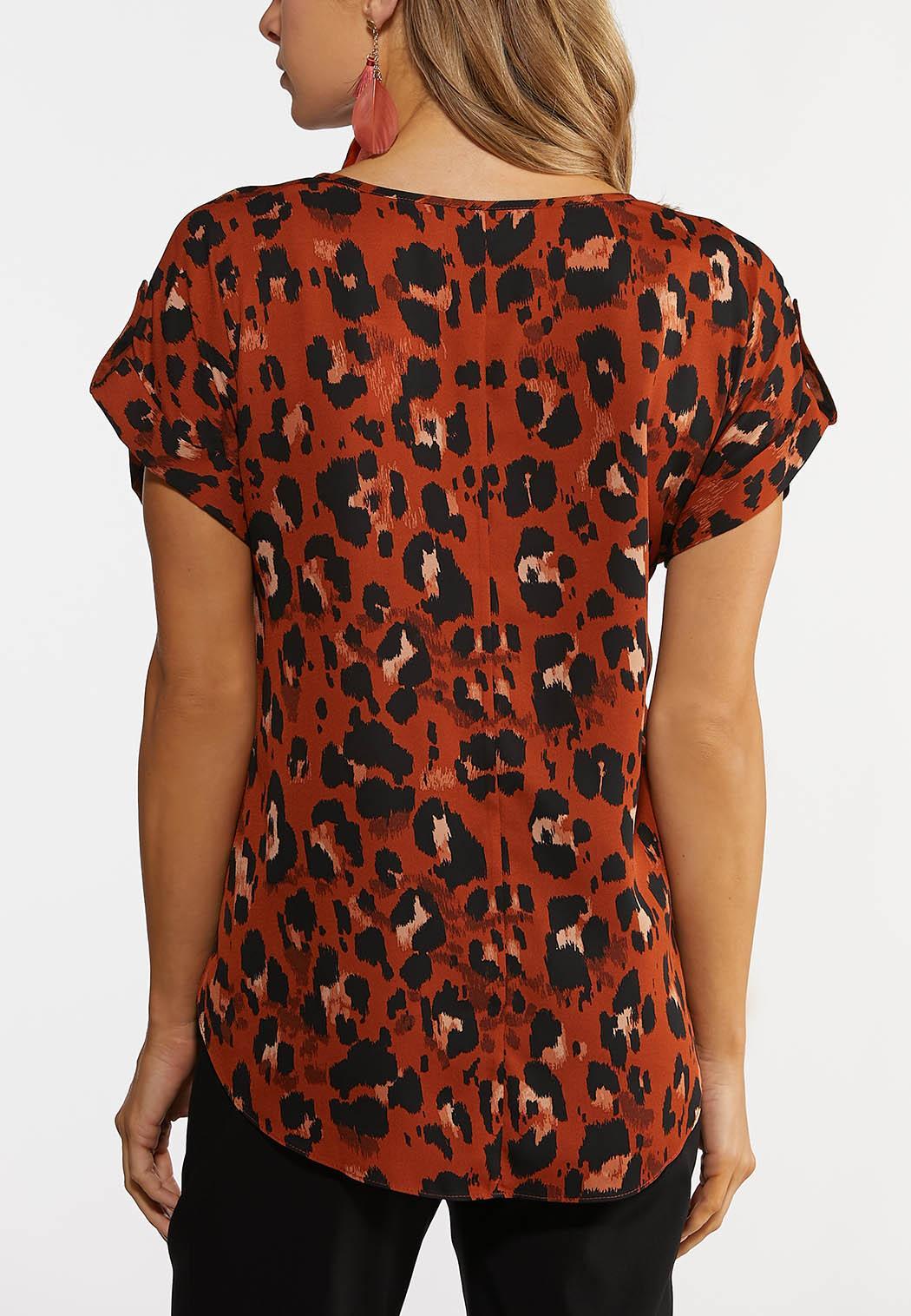 Brown Leopard Top (Item #44246213)