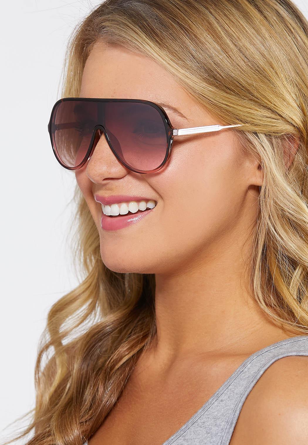 Lucite Shield Sunglasses (Item #44248113)