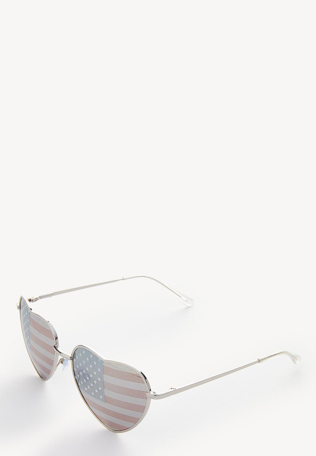American Flag Heart Sunglasses (Item #44248766)