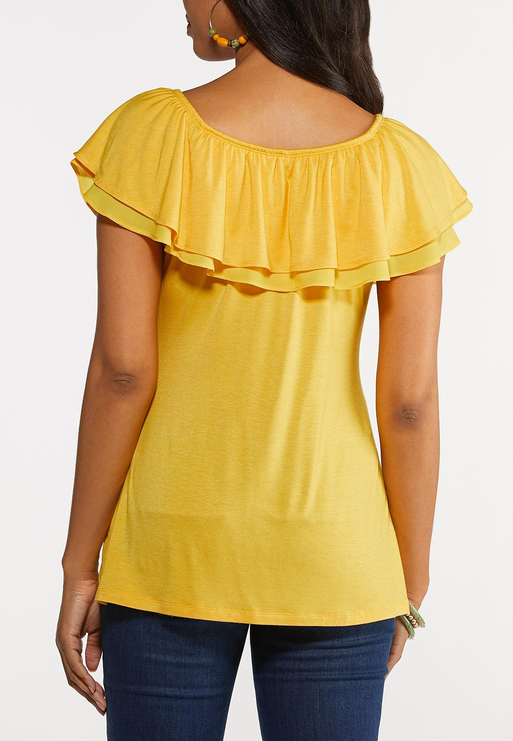 Convertible Ruffled Top (Item #44248974)