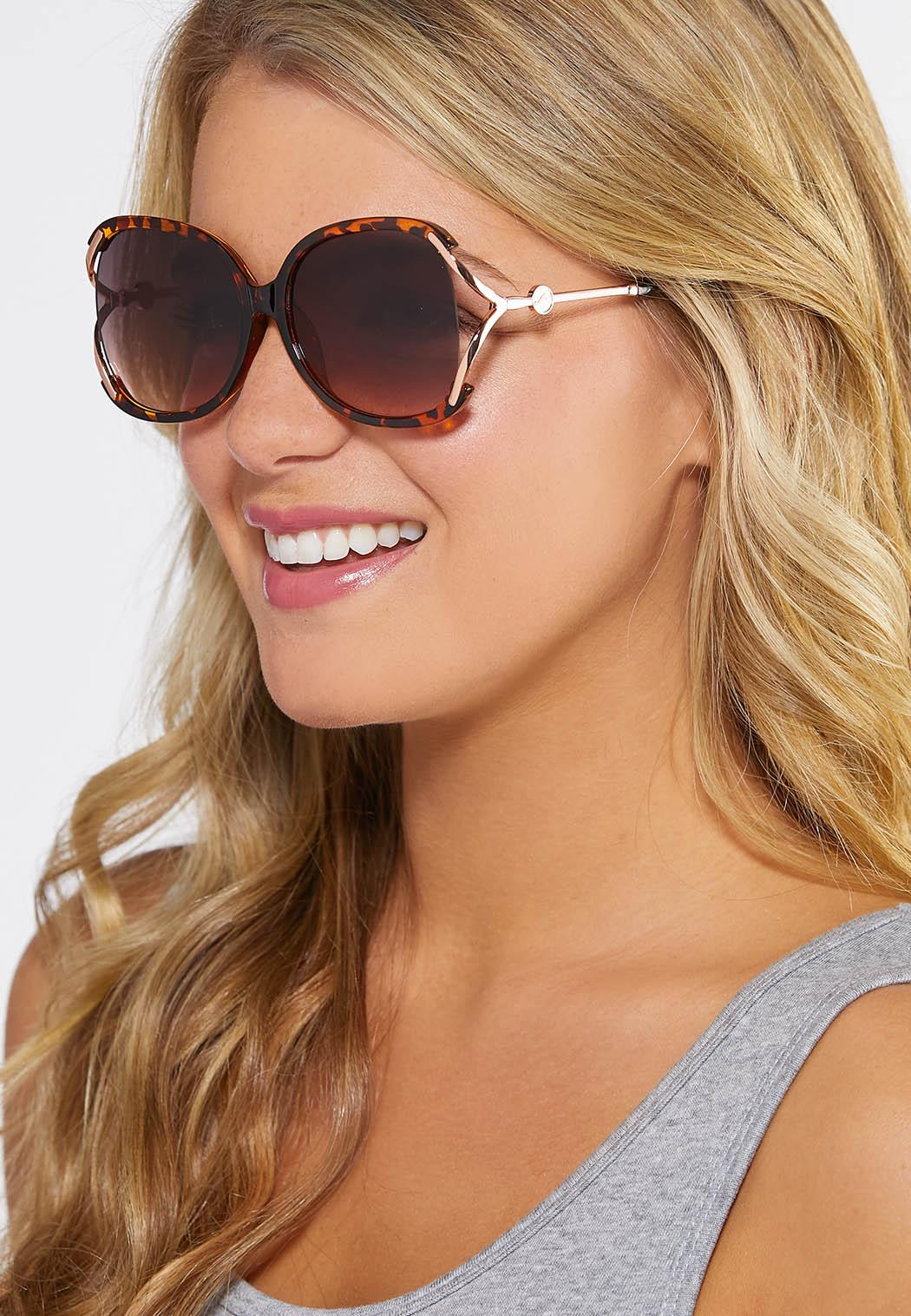 Vented Tortoise Sunglasses (Item #44248999)